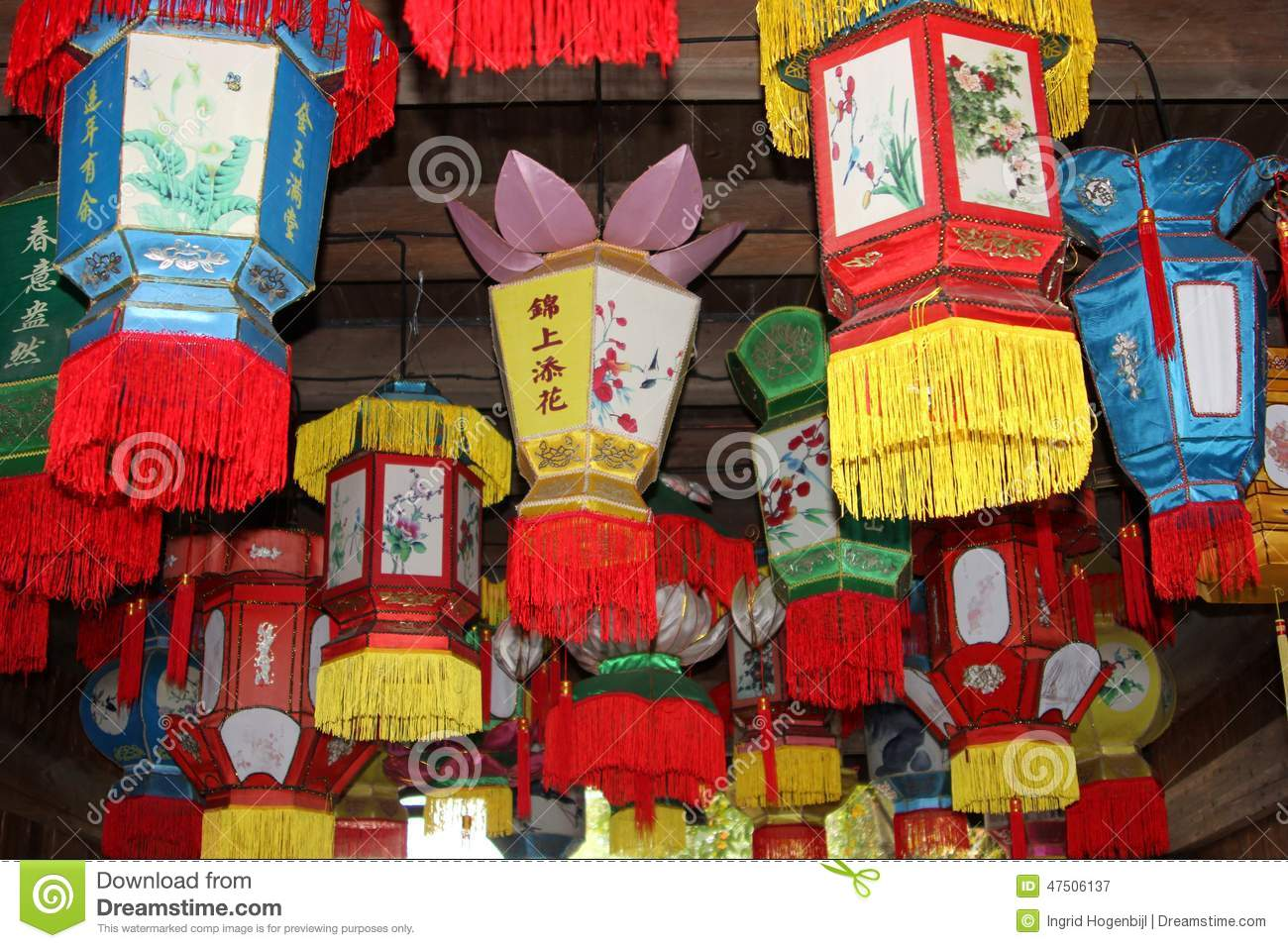 Colorful Chinese Lanterns For Celebrations And Decorations China