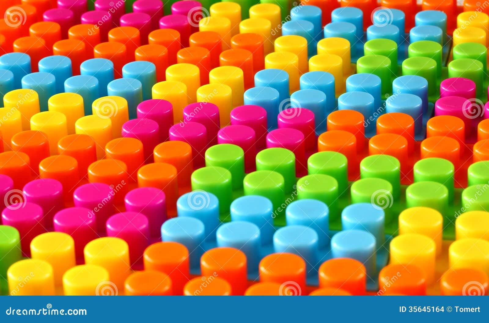 Colorful Children Lego Brick Toy Background Stock Photo ...