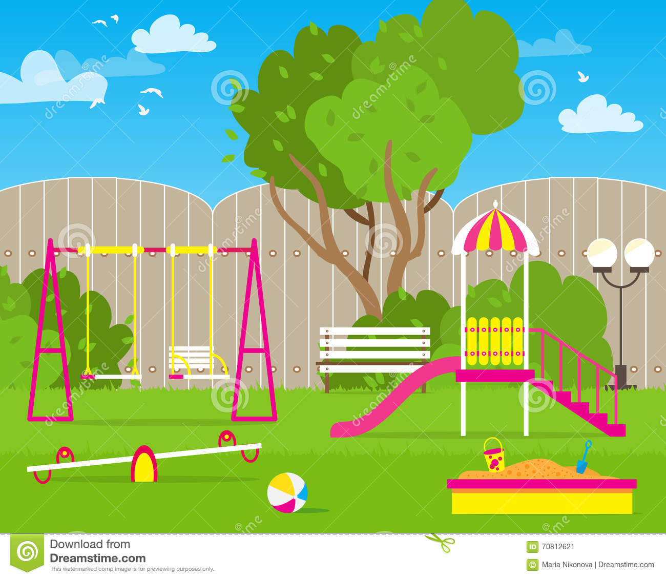 Schoolyard Cartoons, Illustrations & Vector Stock Images ...
