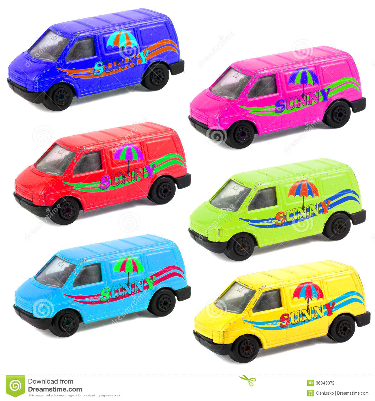 Colorful Children's Toy Car Models Stock Photography ...