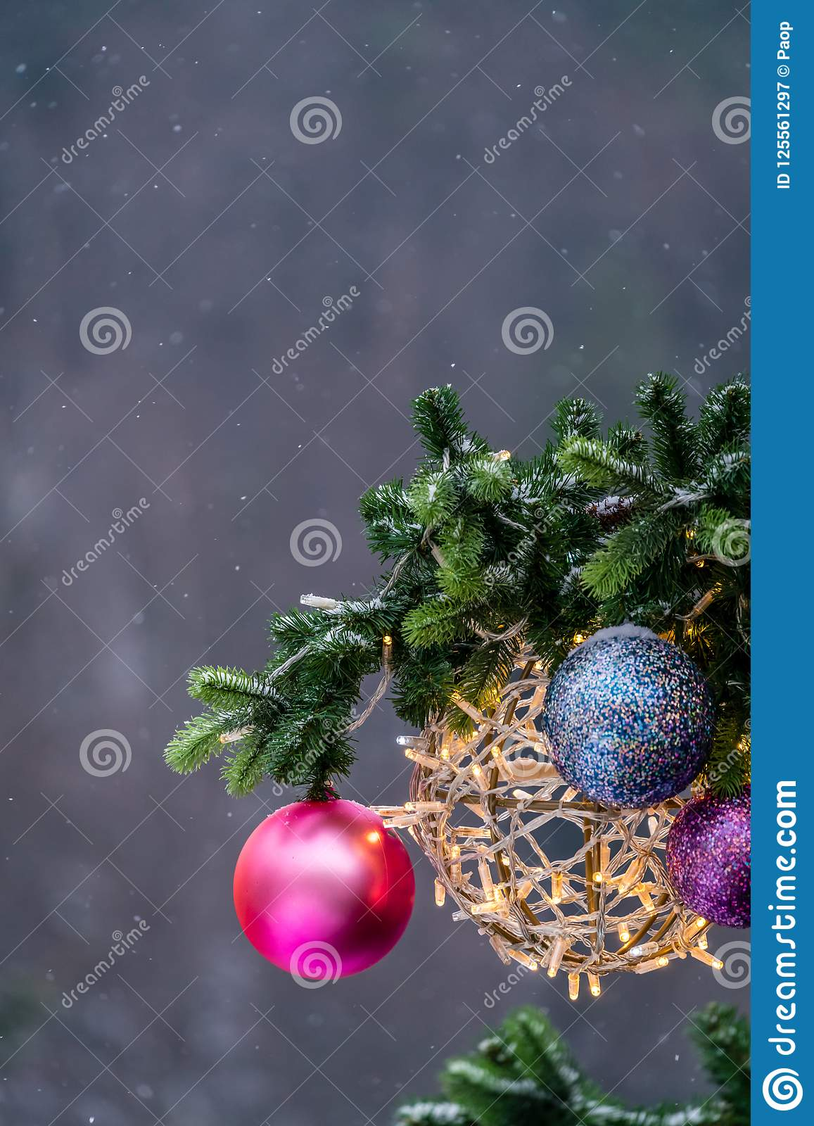 download christmas tree colorful decorations stock image image of falling decorations 125561297 - Colorful Christmas Decorations