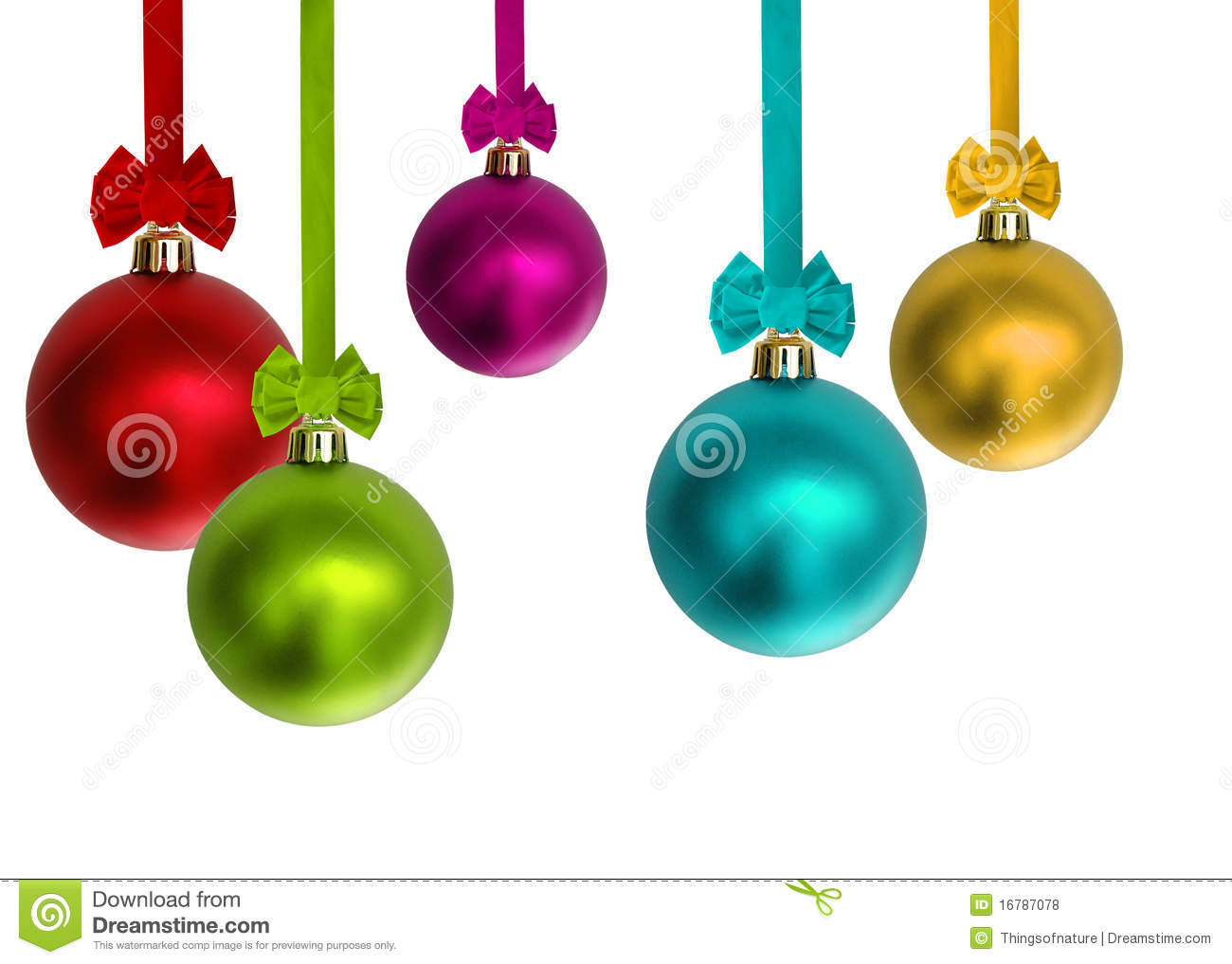 colorful christmas ornaments - Colorful Christmas Decorations