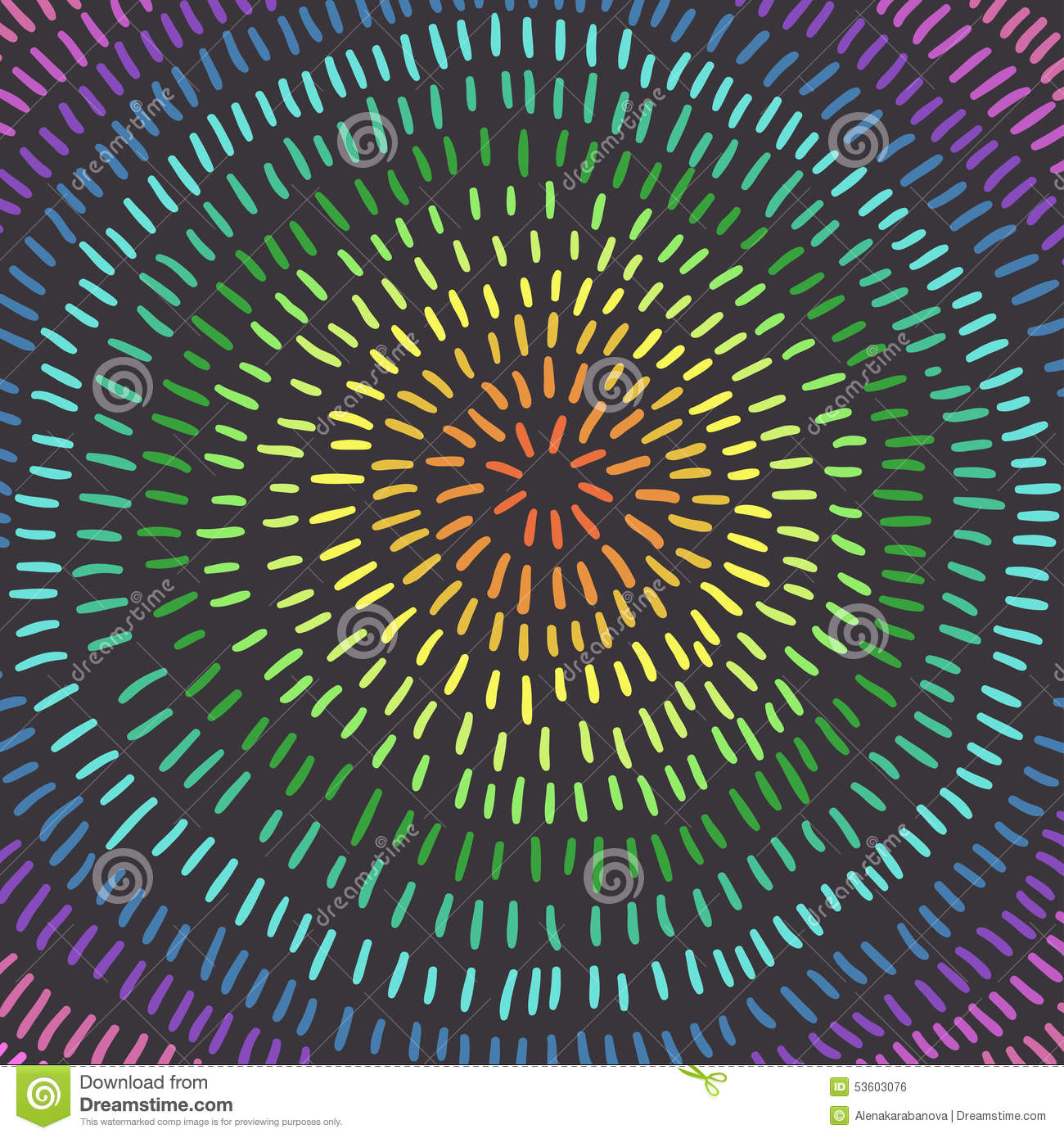 Colorful circle. Art. Abstract Background, rainbow colors.