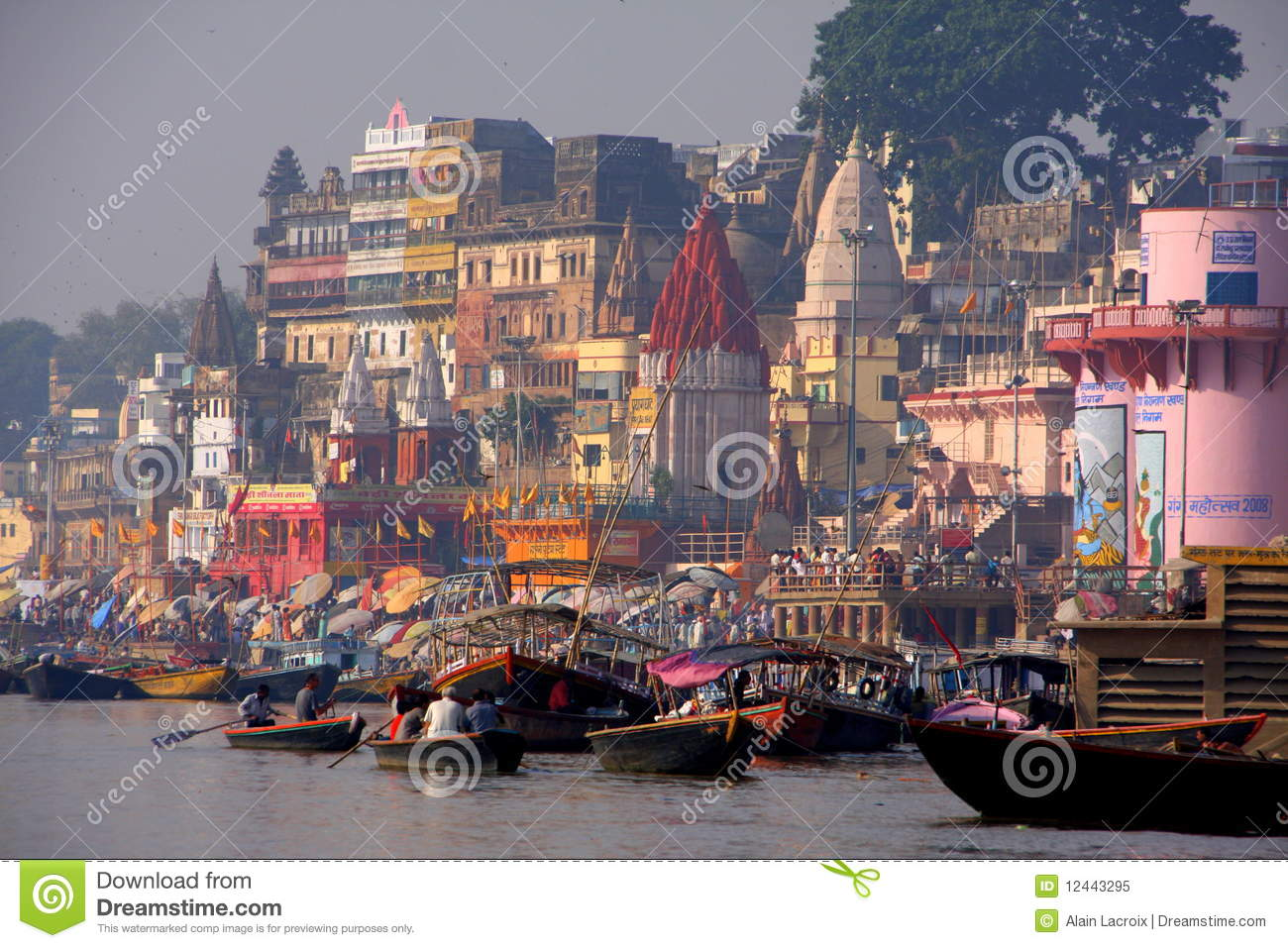 Colorful City Royalty Free Stock Photo Image 12443295