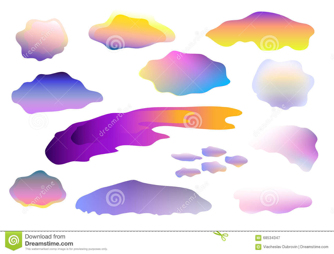 colorful clouds clip art on white background clouds on white stock rh dreamstime com colorful clip art free colorful clip art lettering