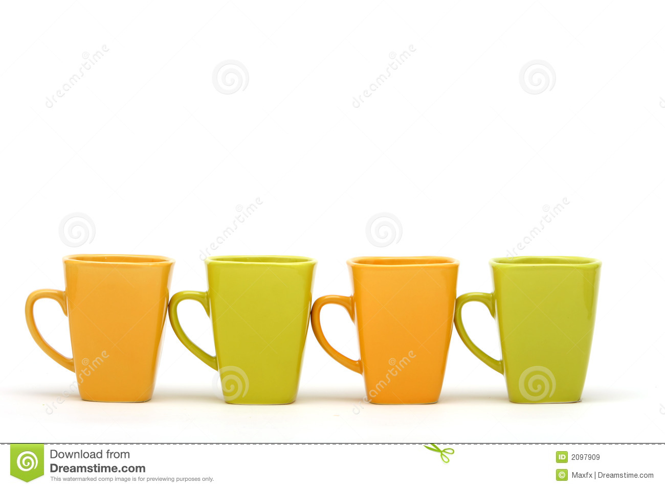colorful coffee cups 2097909 Small Coffee Cups Colorful Coffee Cups Royalty Free Stock Photo Image