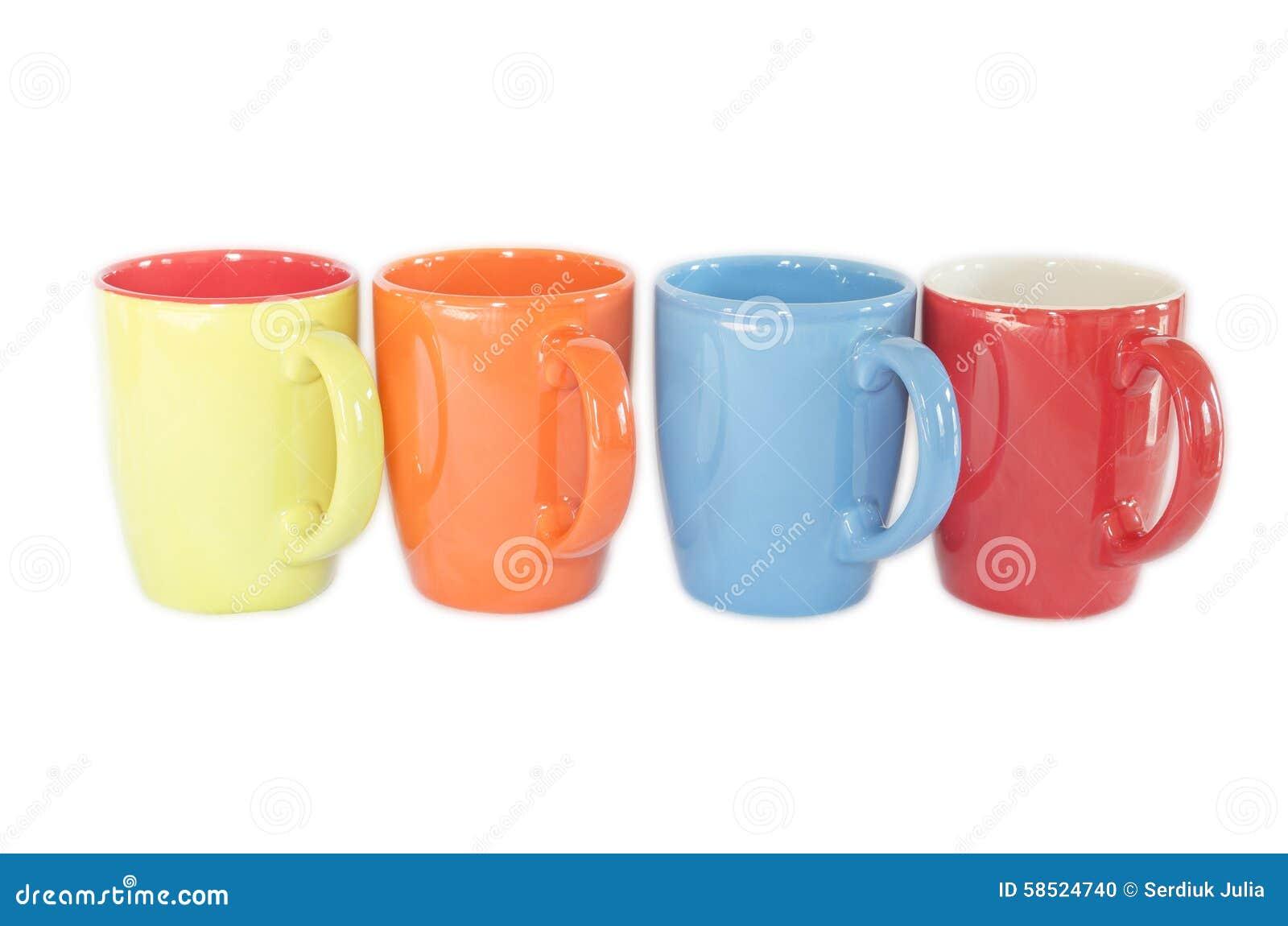 colorful coffee mugs - Colorful Mugs