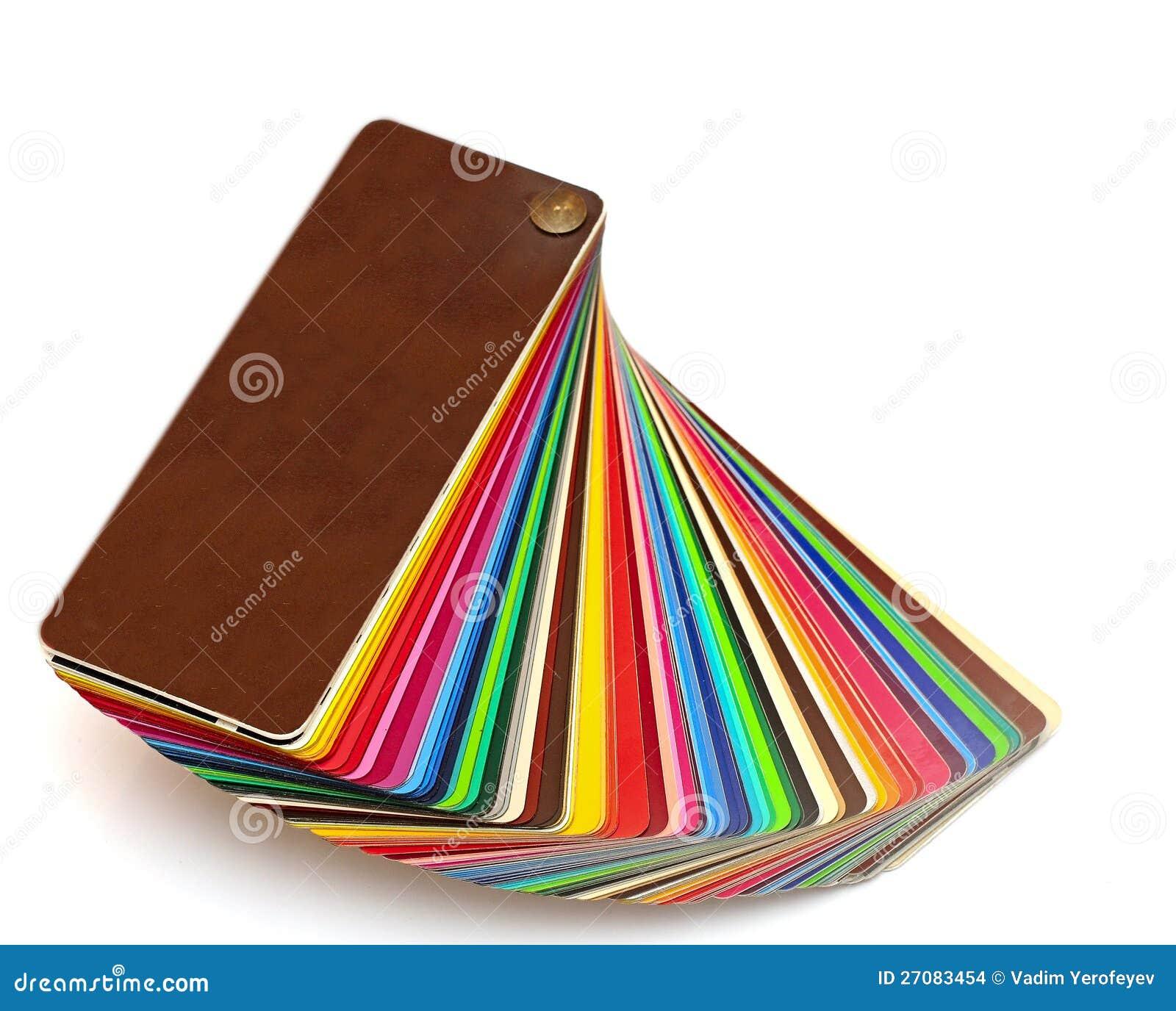 Colorful color guide
