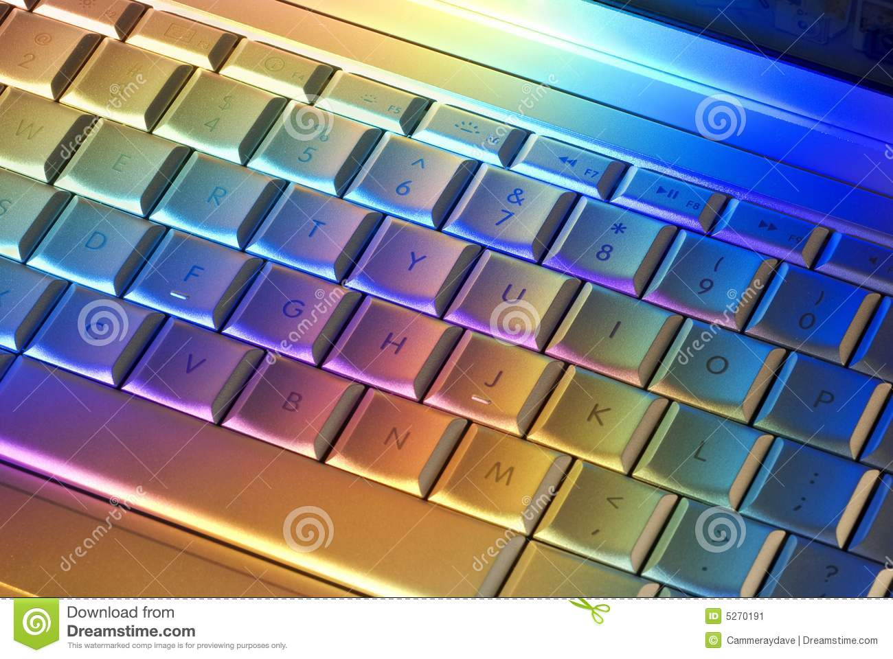 colorful computer keyboard technology stock image image rainbow vector files rainbow vector art