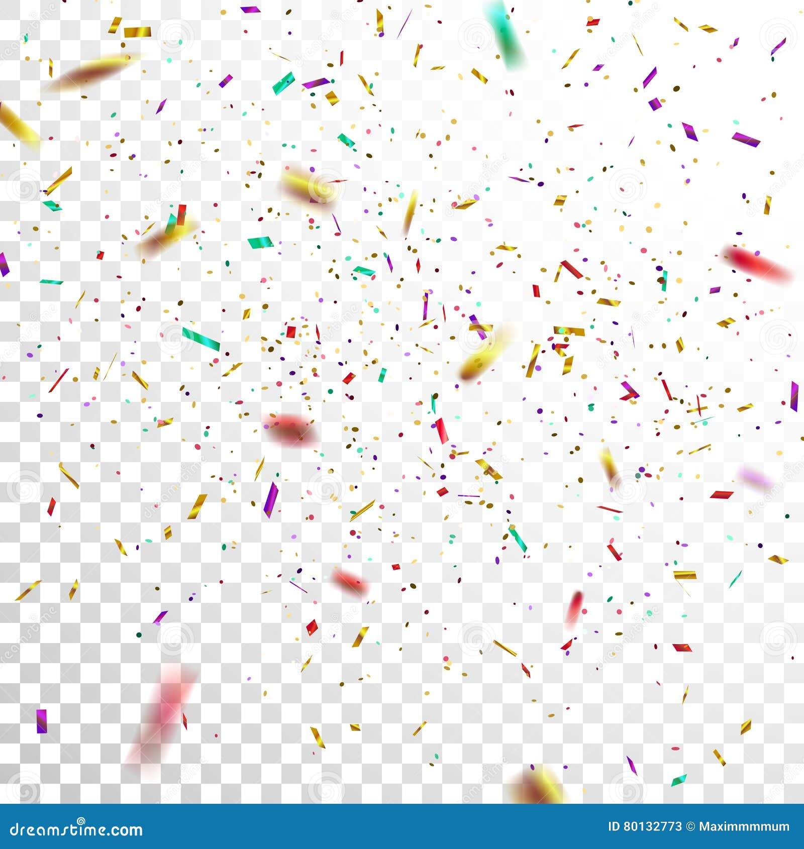 Colorful Confetti.