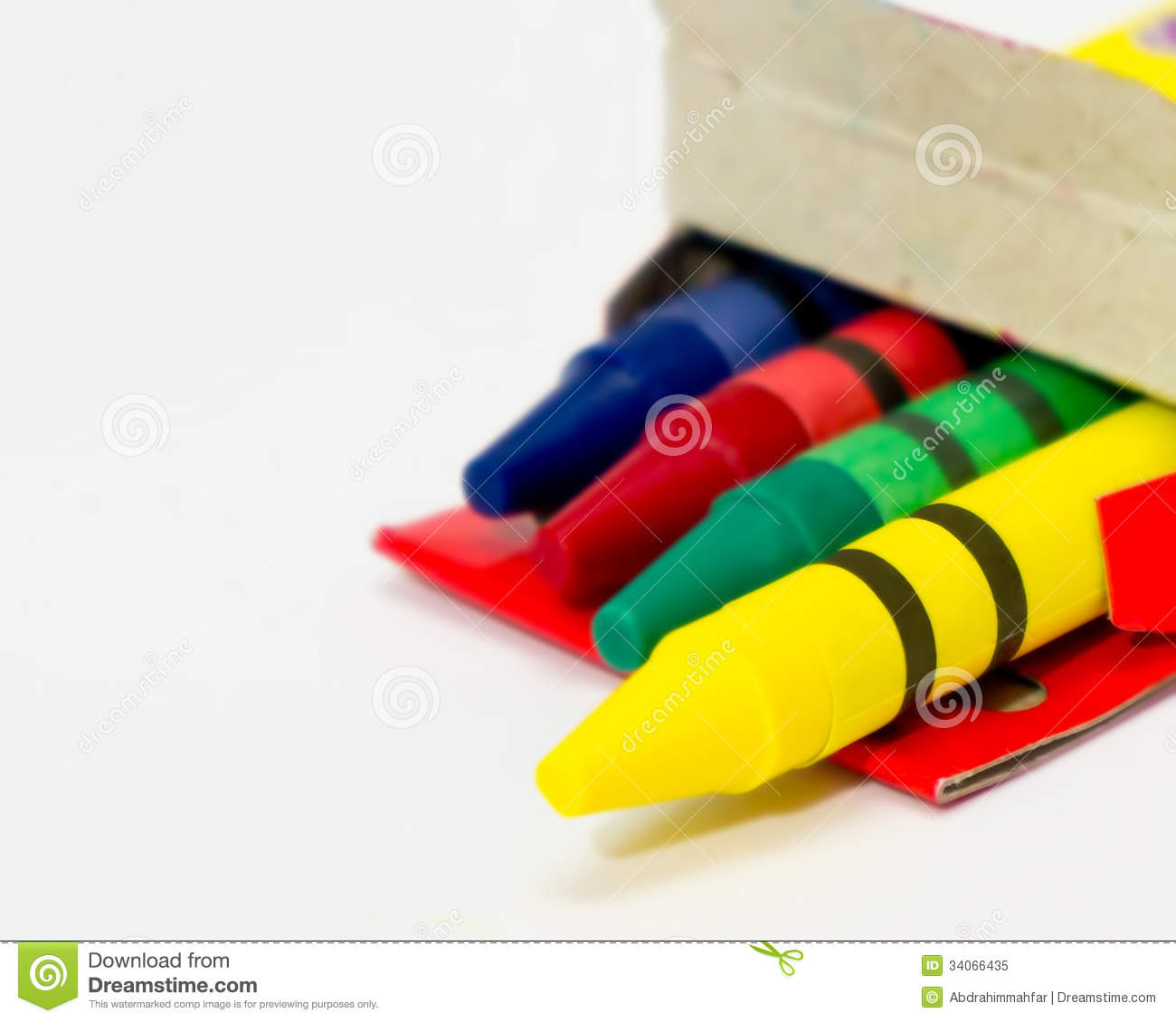 Colour Crayons ...