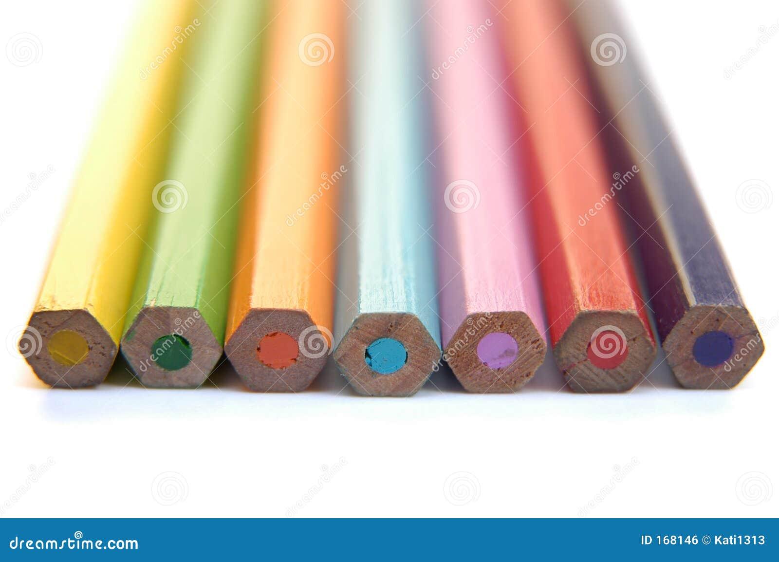 Colorful crayons II