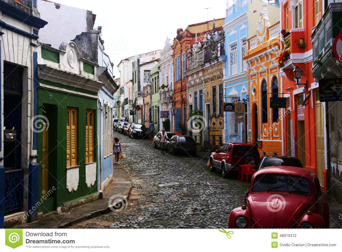 Download Colorful Cuba editorial photography. Image of scenic - 48919372
