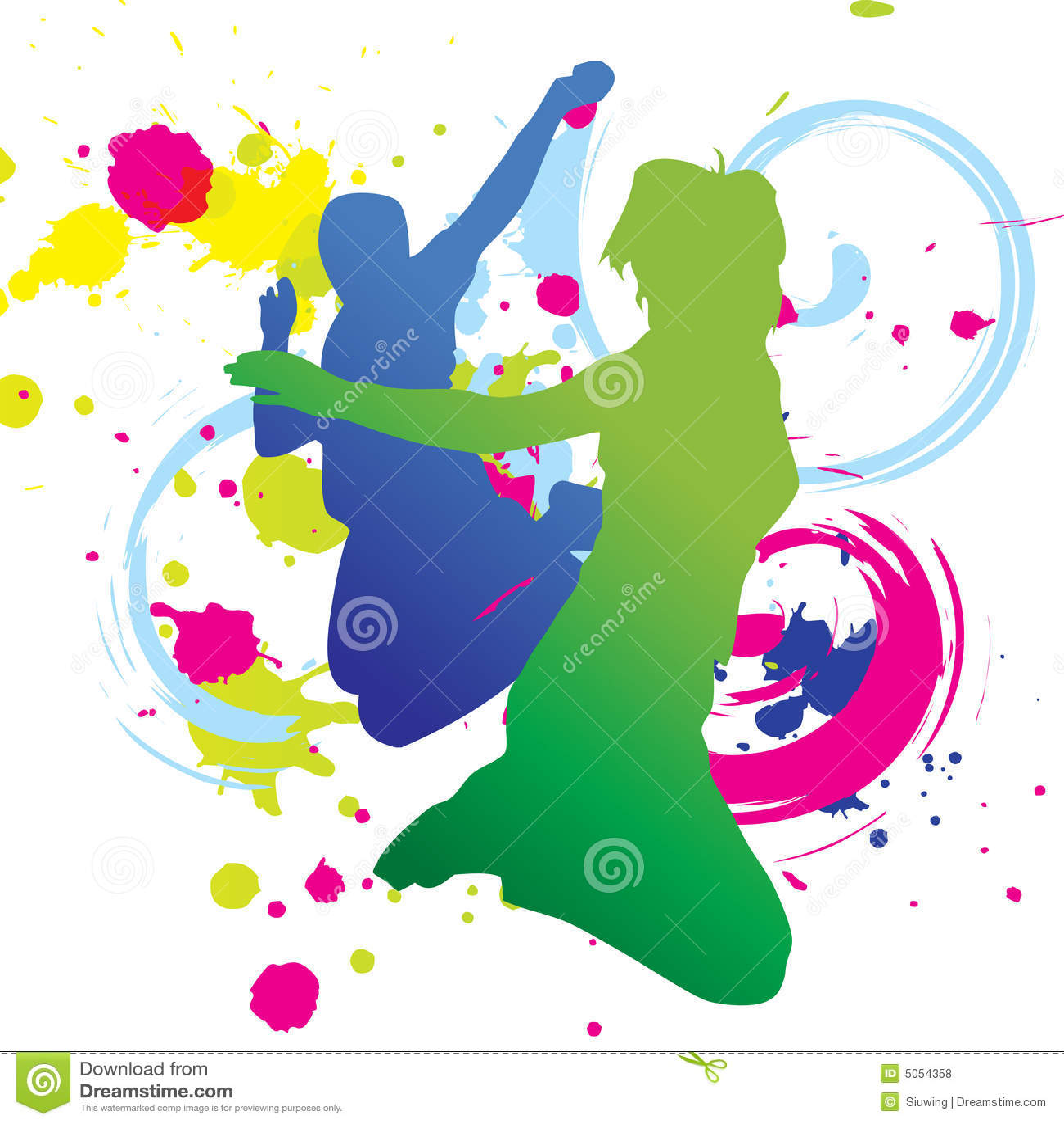 Dance Graphic Design Poster