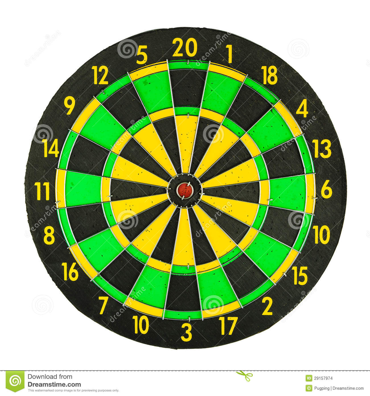 graphic about Printable Dart Board identified as Colourful dartboard inventory picture. Graphic of bullseye, reason