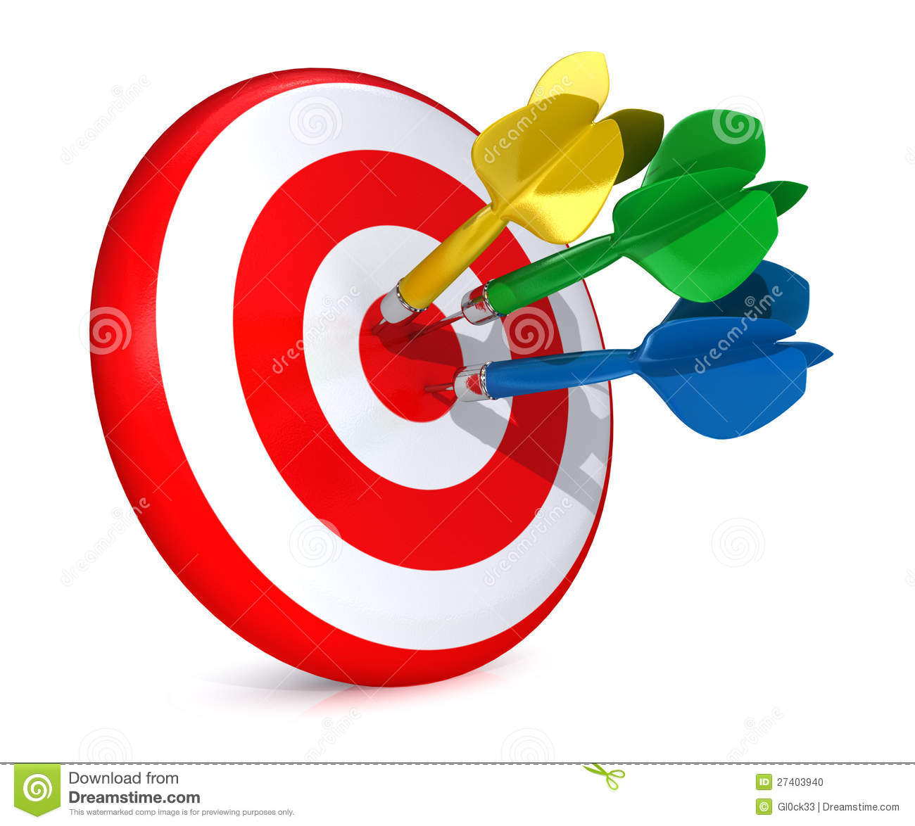 Image result for photo of dart hitting target