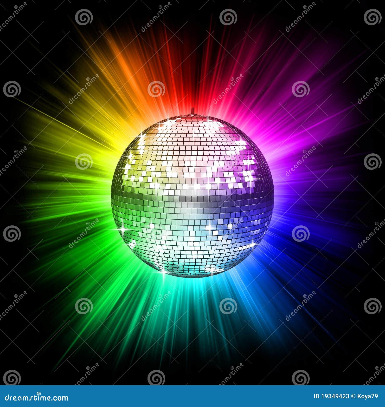 colorful disco ball stock illustration  illustration of