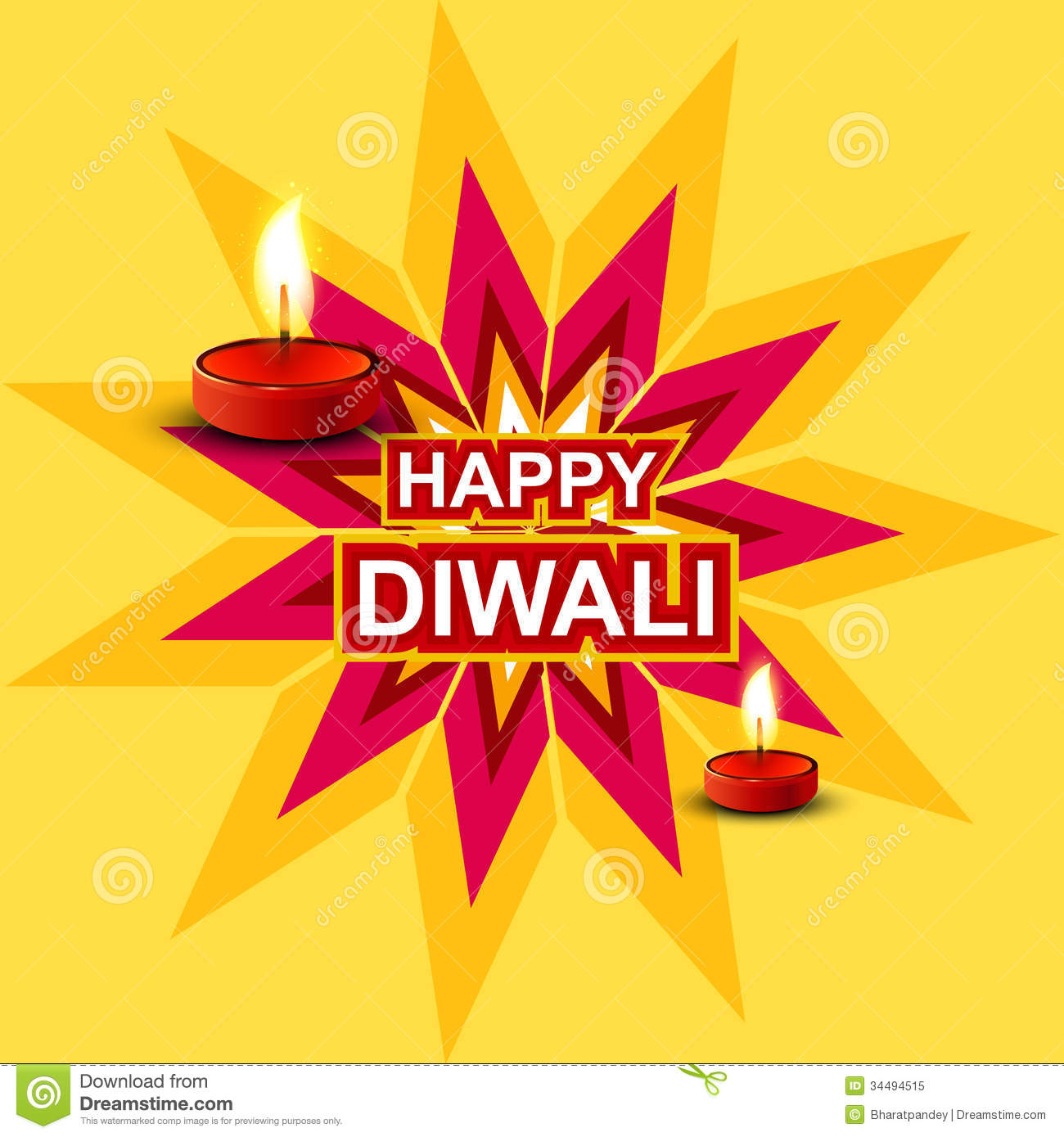 Colorful diwali greeting card stock illustration illustration of colorful diwali greeting card kristyandbryce Image collections
