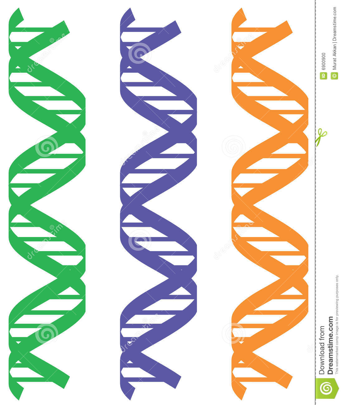 colorful dna patterns stock photo image 6900900