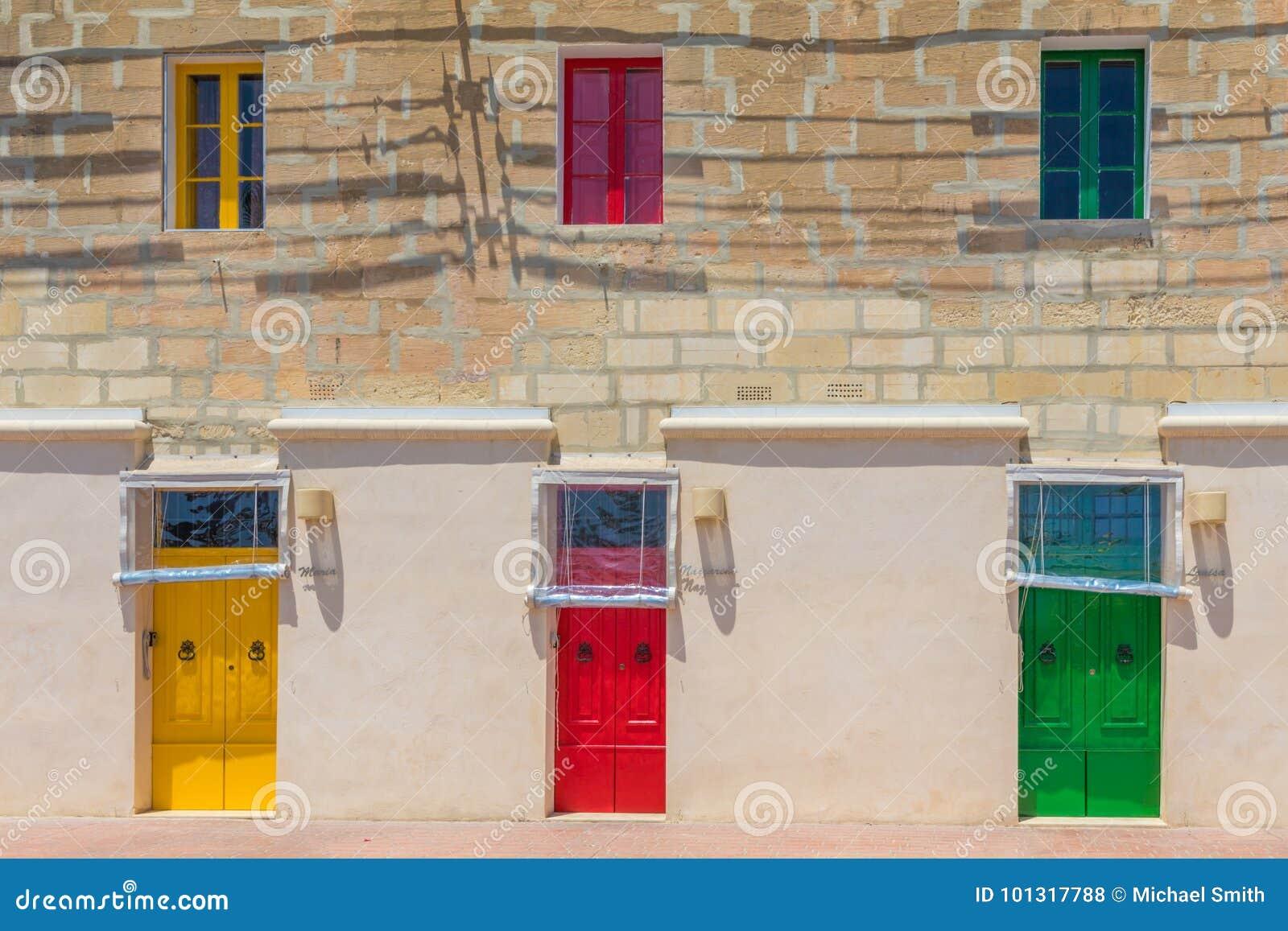 Colorful doors Marsaxlokk