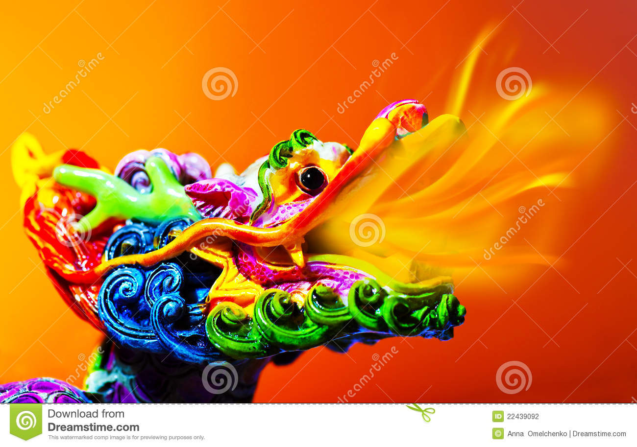 Download Colorful dragon stock photo. Image of chinese, japanese - 22439092