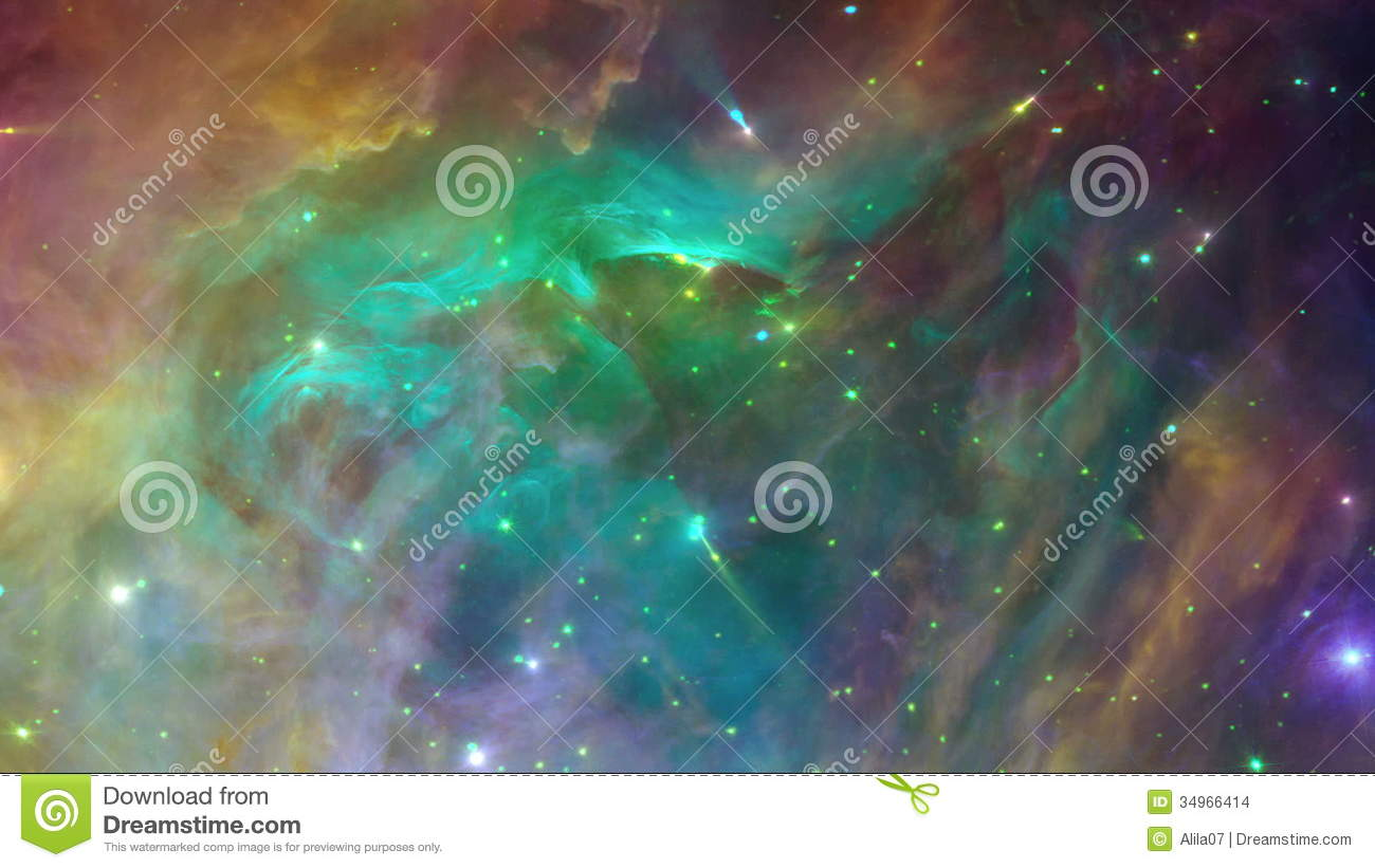 Seamless Space Background Seamless Loop Stock Video