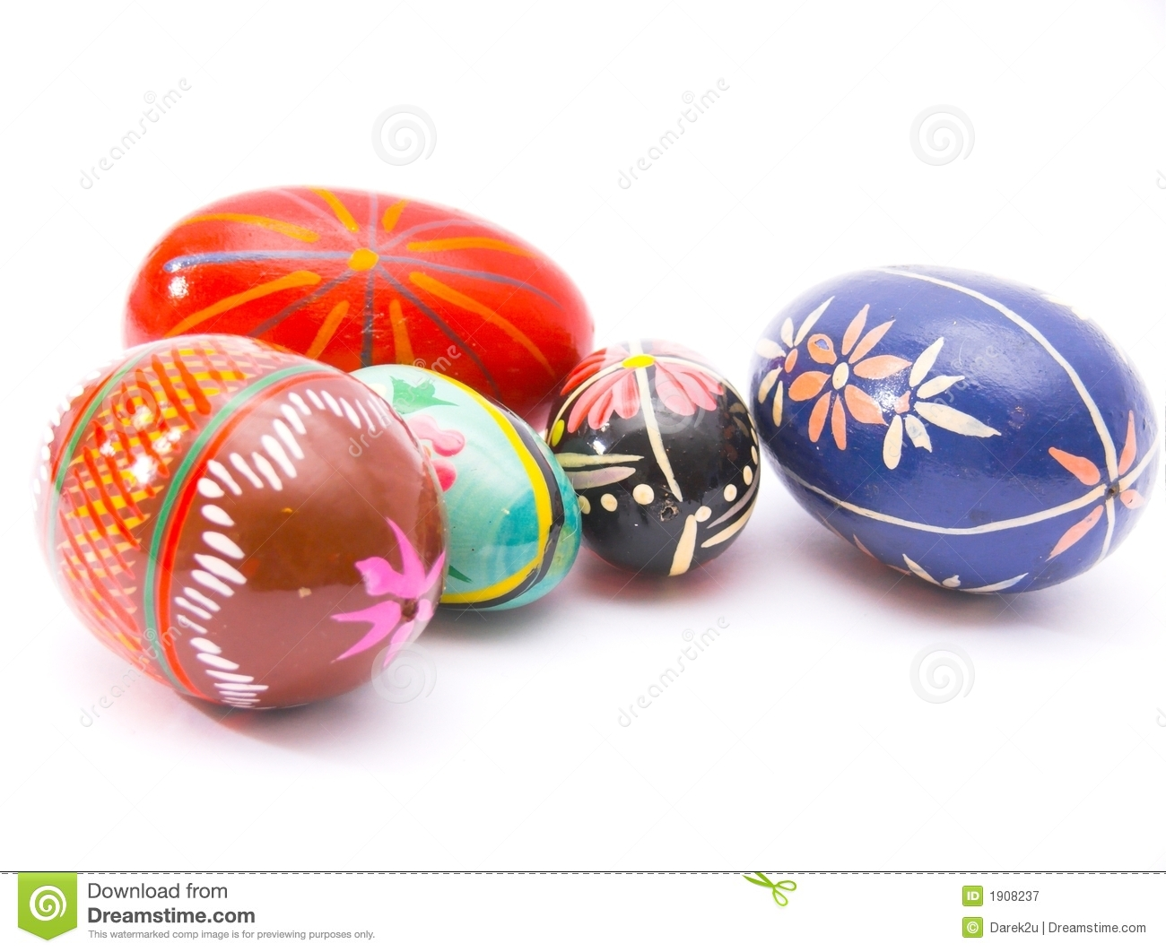 Colorful Easter Egs Royalty Free Stock Photography - Image ...