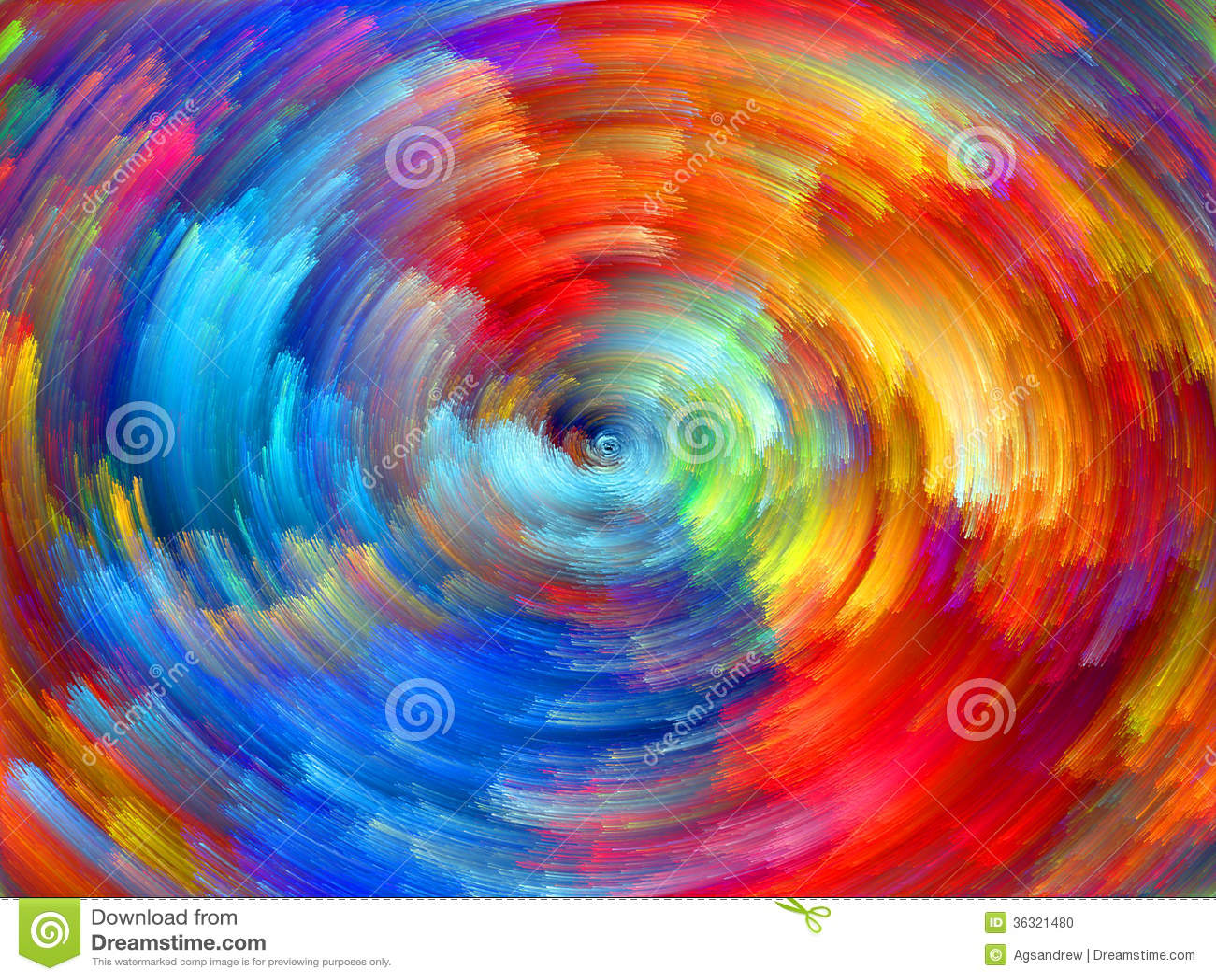 Colorful Energy Stock Photo Image Of Decoration Blue