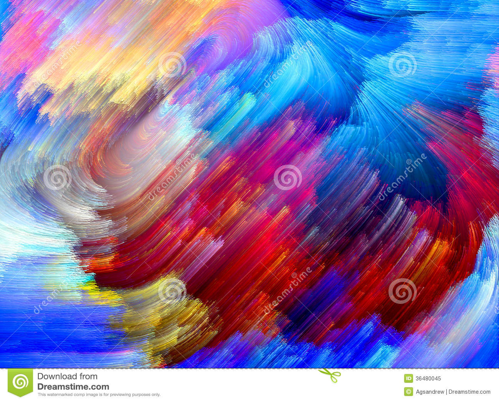 Colorful Energy Royalty Free Stock Photo Image 36480045
