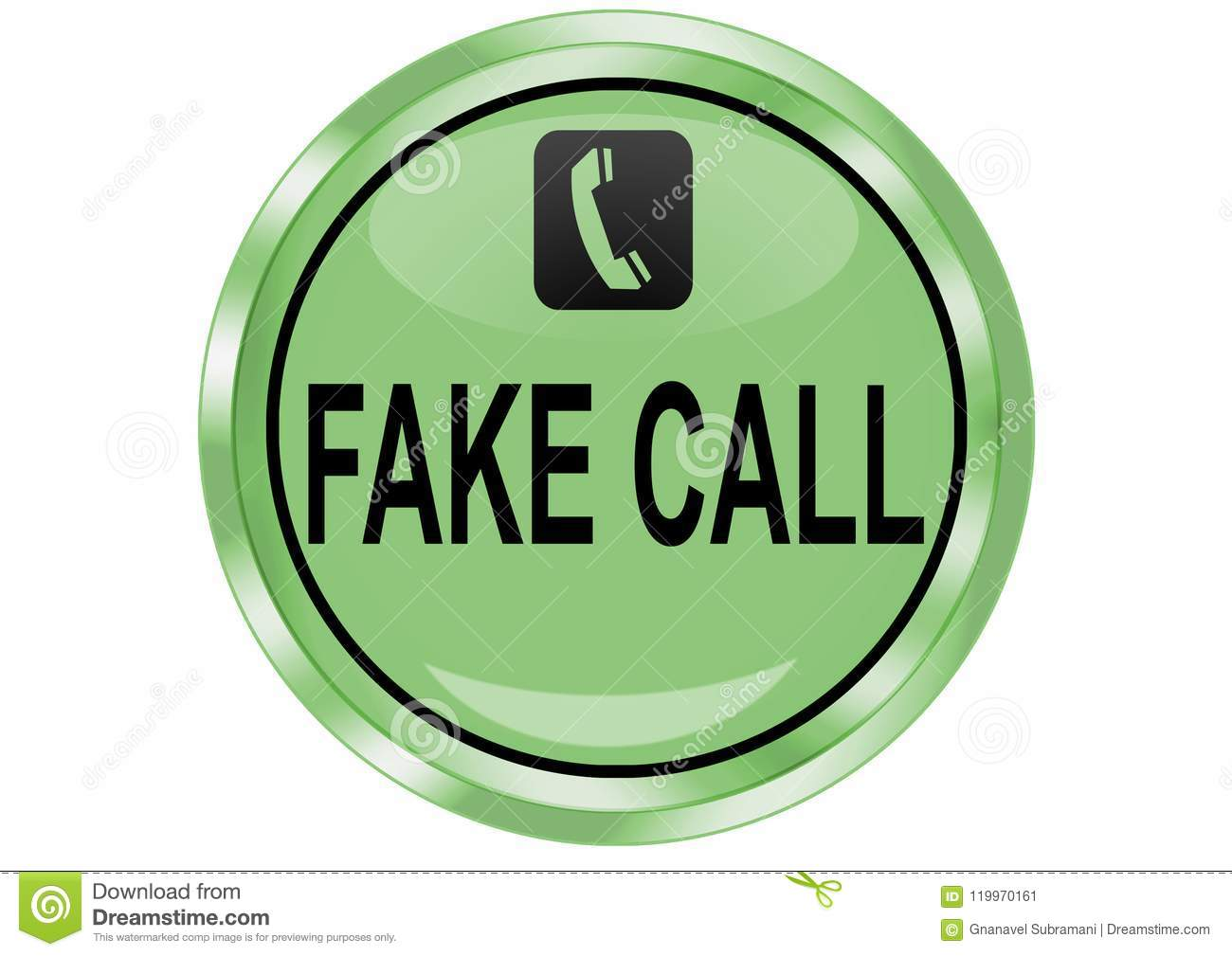 fake call download