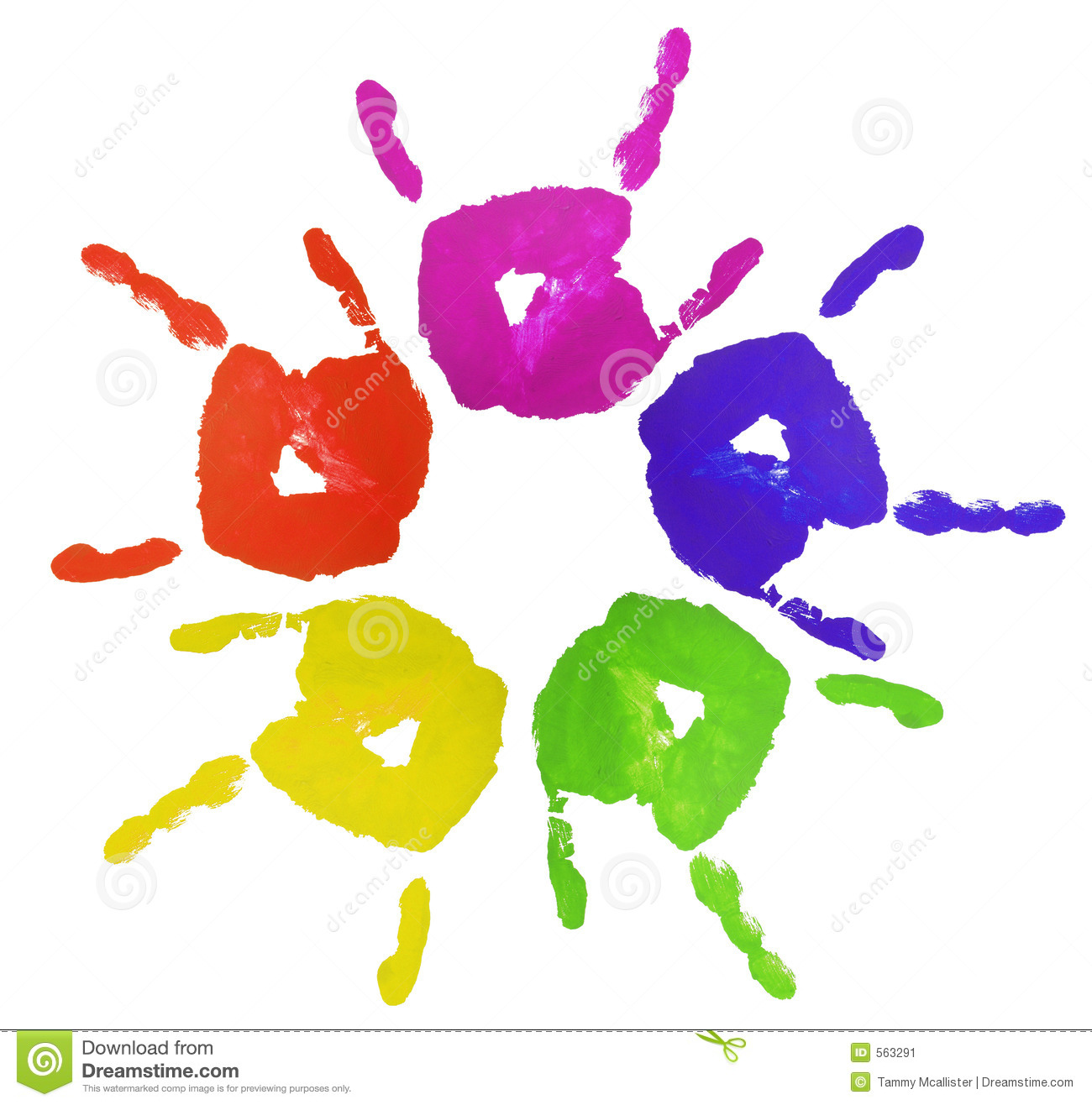 3 finger painted hands stock photo image of finger education 513192