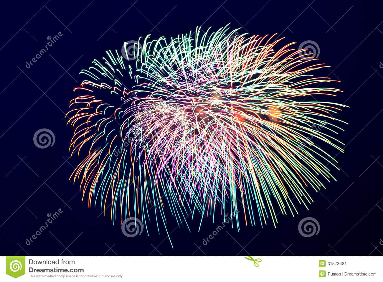 Wallpaper Salute Sky Holiday Colorful 3376x4220: Colorful Fireworks On The Dark Dlue Sky Background Stock