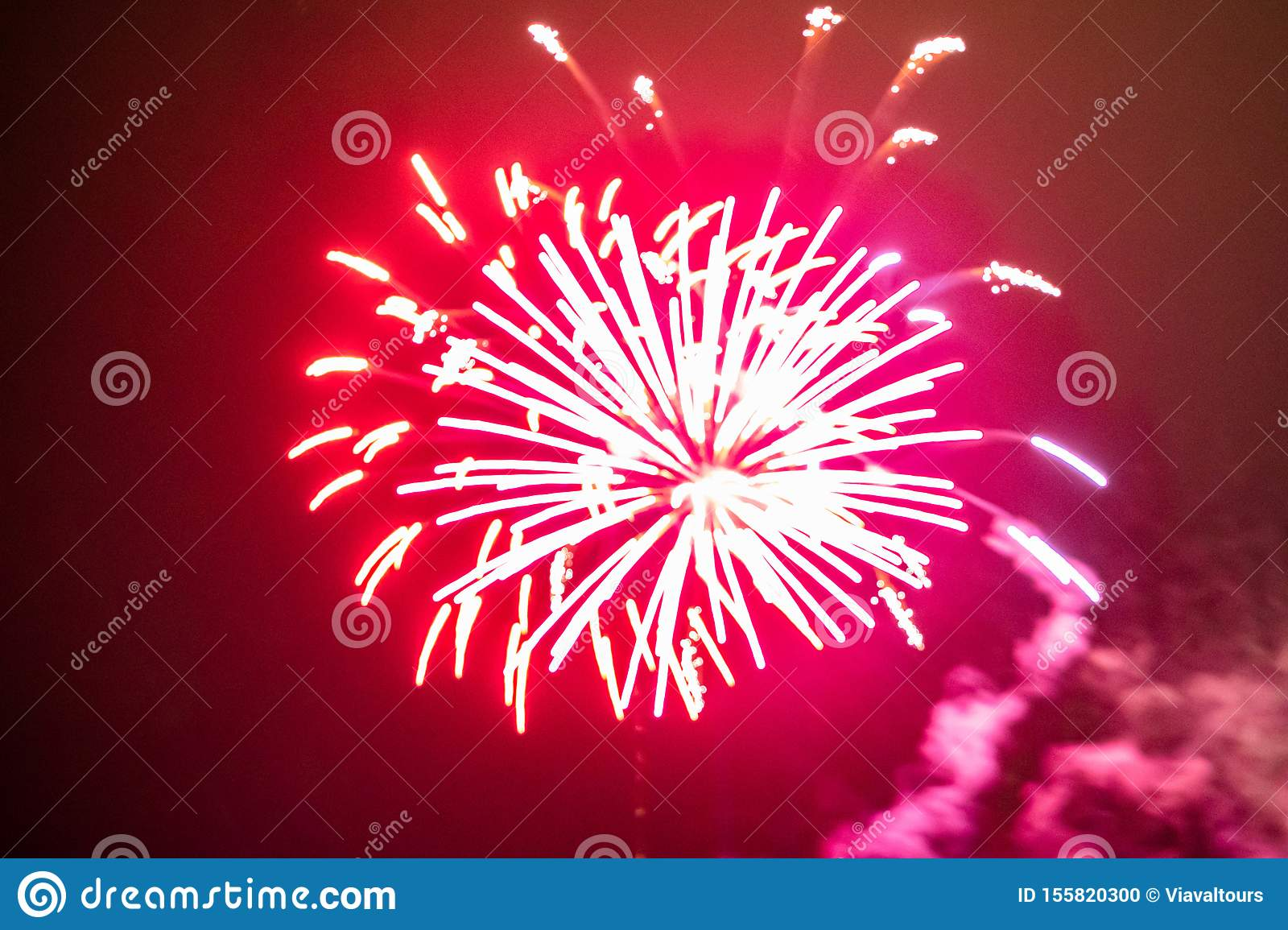 Colorful fireworks in Summer Nights 16