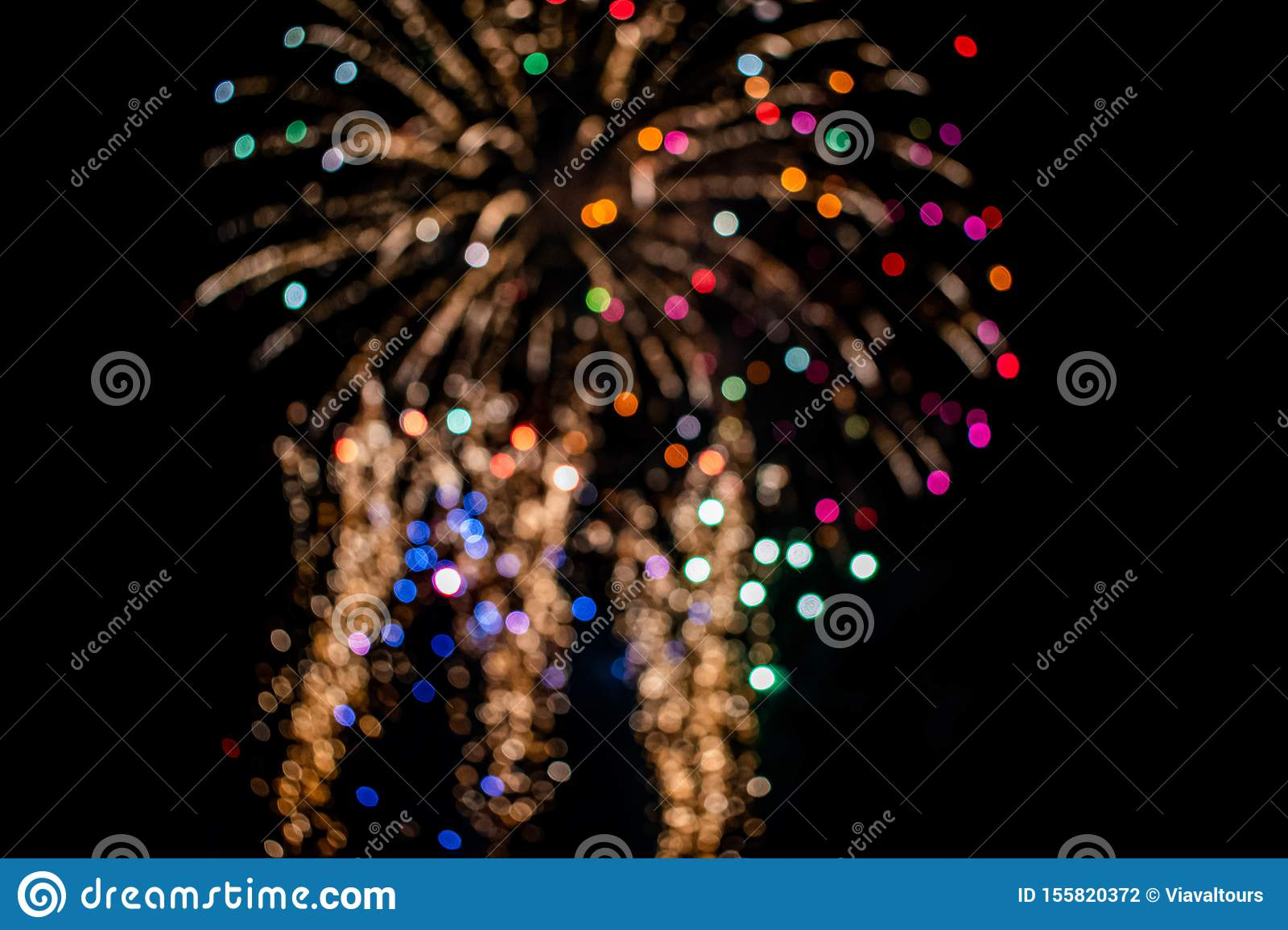 Colorful fireworks in Summer Nights 13