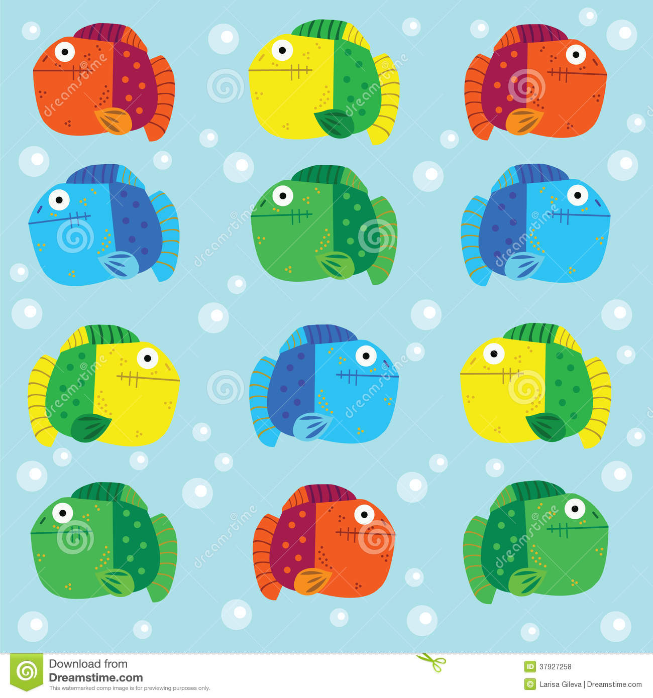 Colorful Fish Royalty Free Stock Photos - Image: 37927258