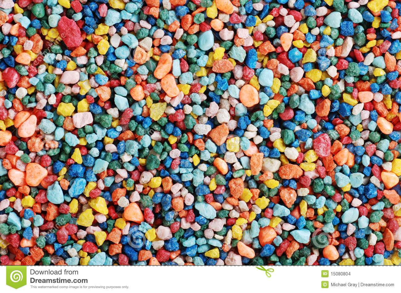 Colorful fish tank gravel stock photo image of blue for Fish tank pebbles