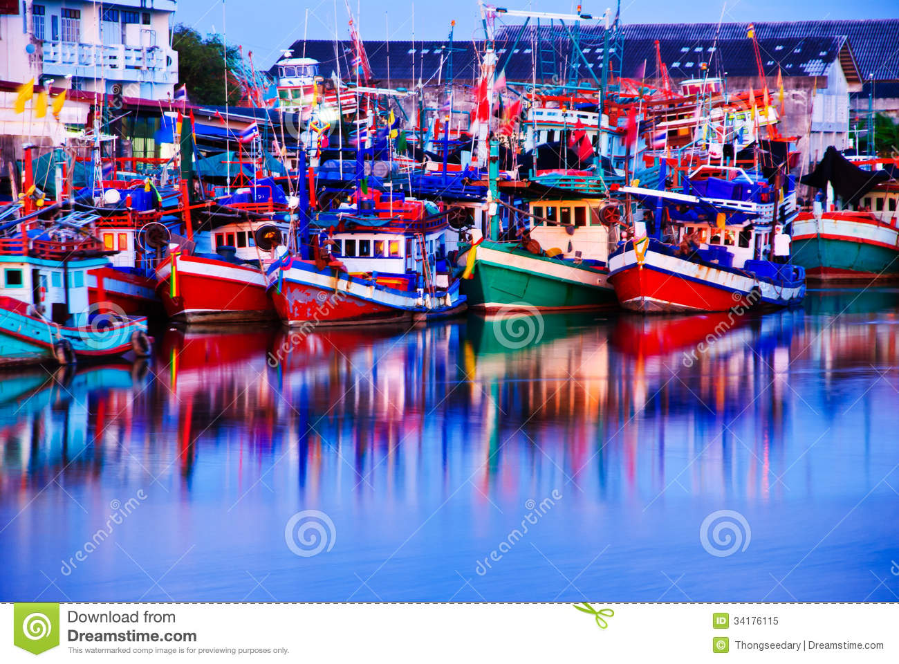 the colorful harbor in - photo #38