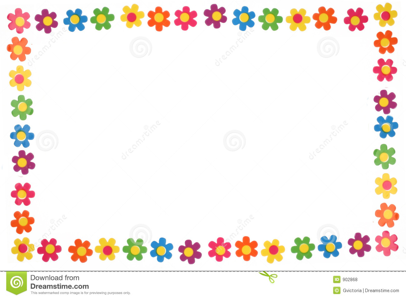 colorful flowers stock photo image of summer  summery spring border clipart black and white spring border clip art images
