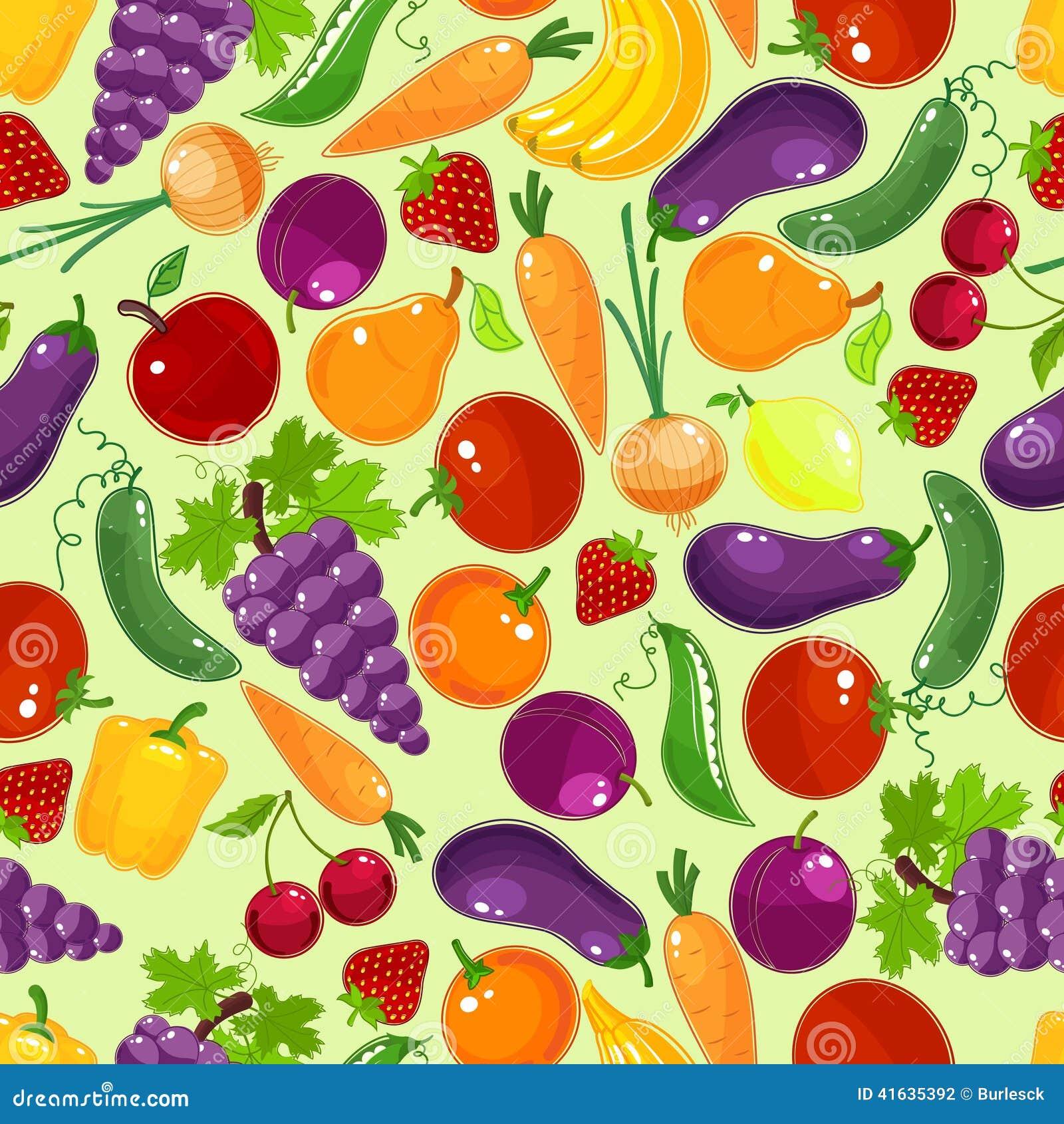 Sonic The Hedgehog Headshot Colorful fruit and veg...