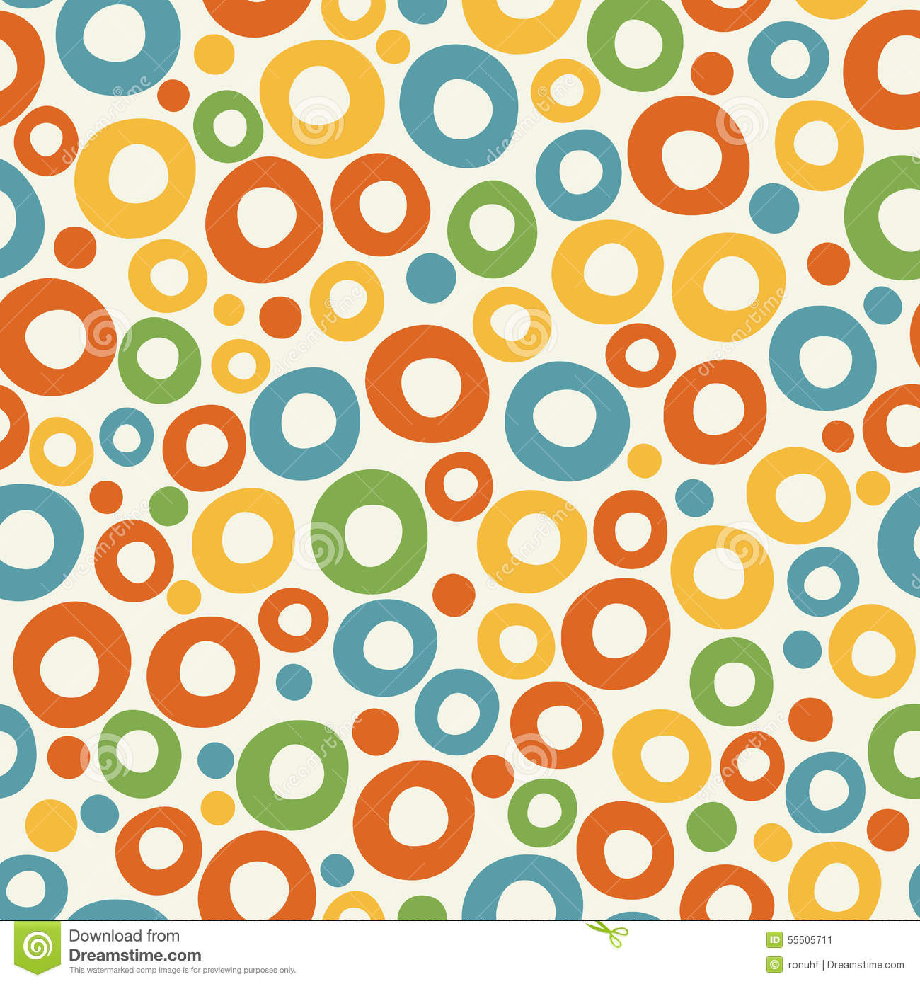 colorful funky bubble background stock vector illustration of