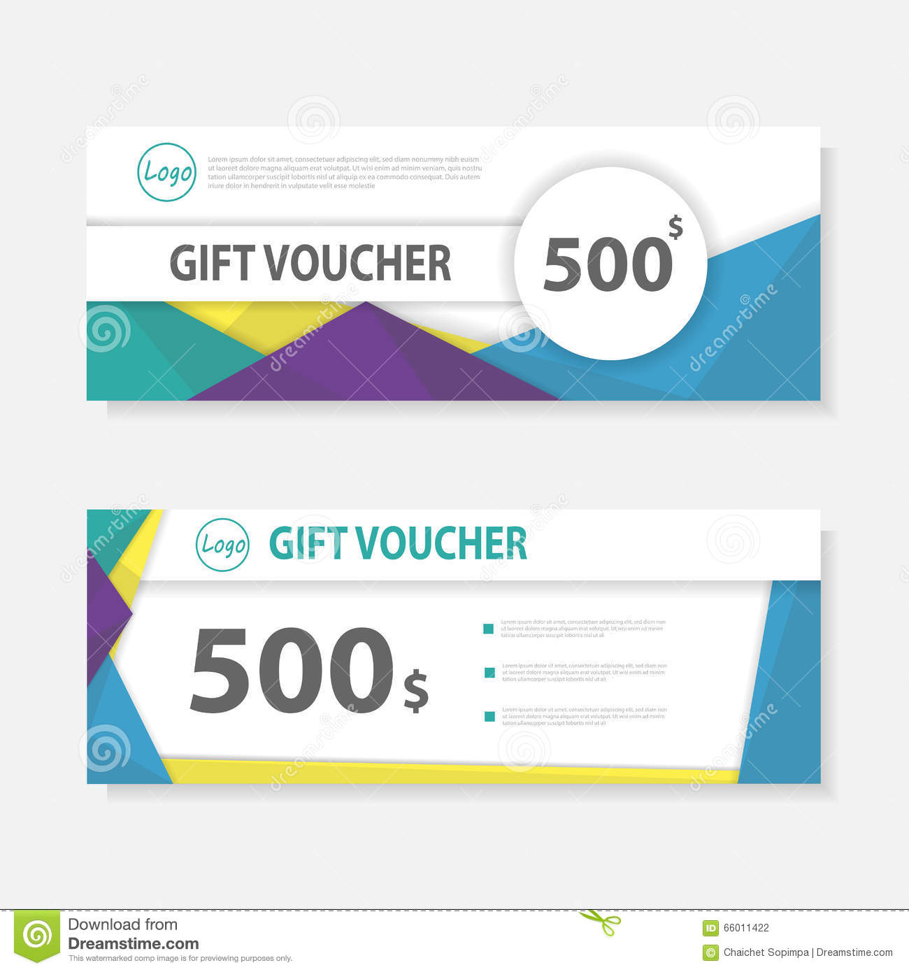 Colorful gift voucher template with colorful patterncute gift colorful gift voucher template with colorful patterncute gift voucher certificate coupon design template royalty free vector alramifo Image collections