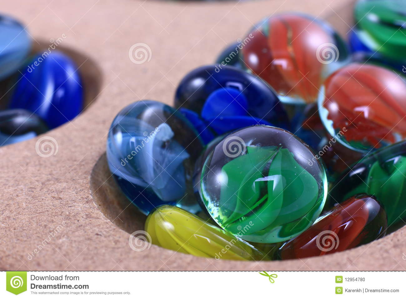 Glass Marbles Game : Colorful glass marble game stock photo image of objects