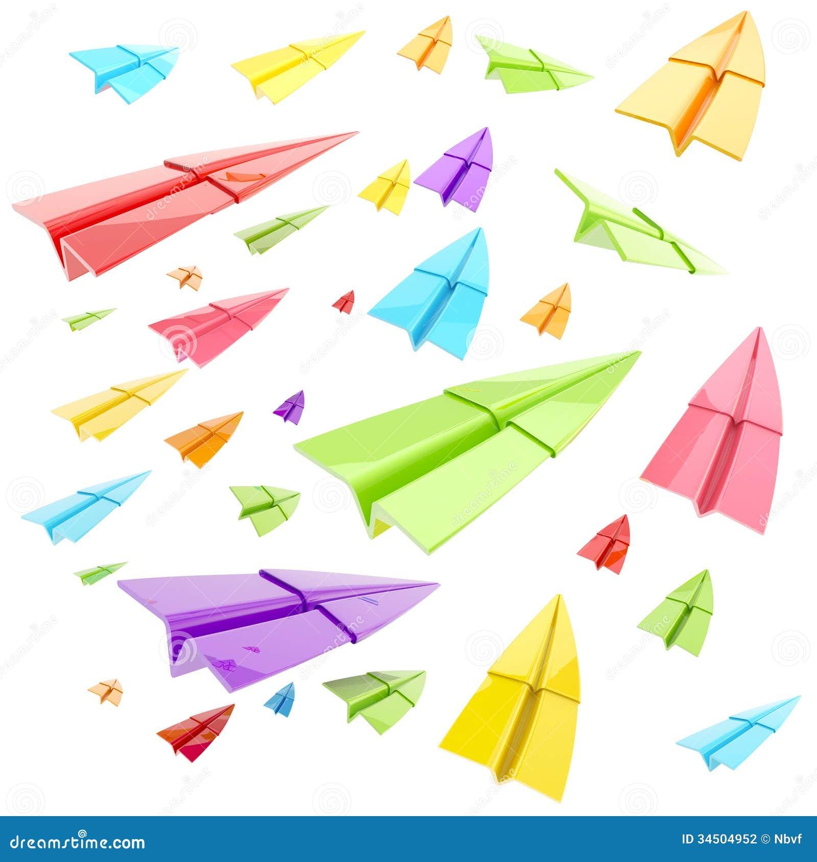paper plane stock illustration - photo #5