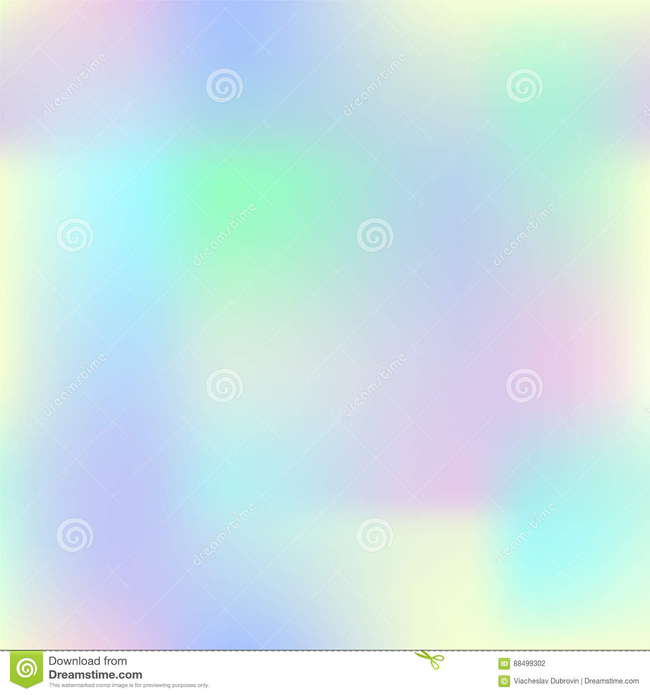 Colorful Gradient Mesh With Yellow, Pink, Blue And Green. Pale ...