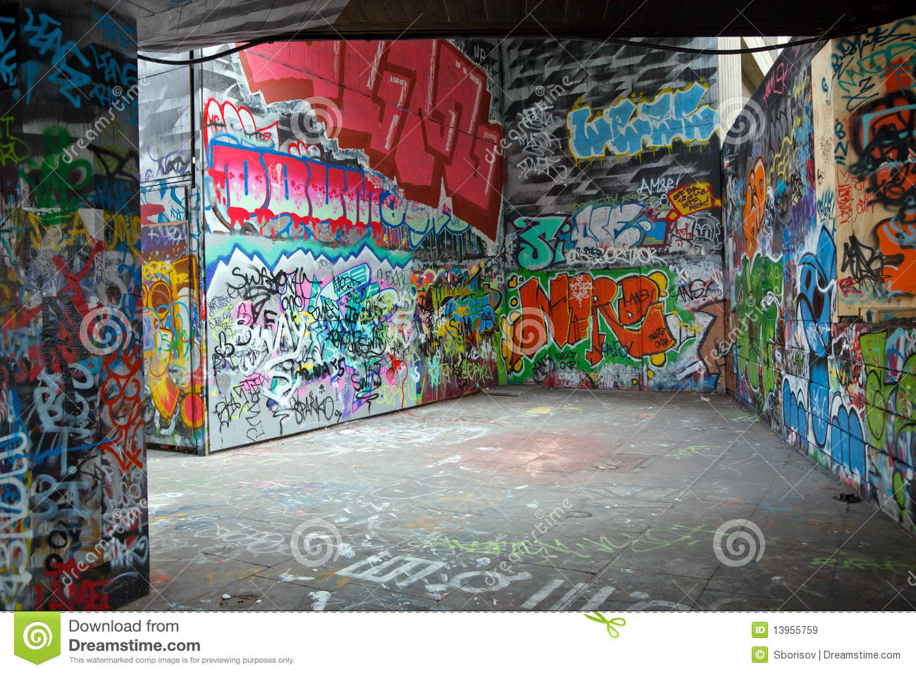 Colorful Graffiti Royalty Free Stock Images Image 13955759