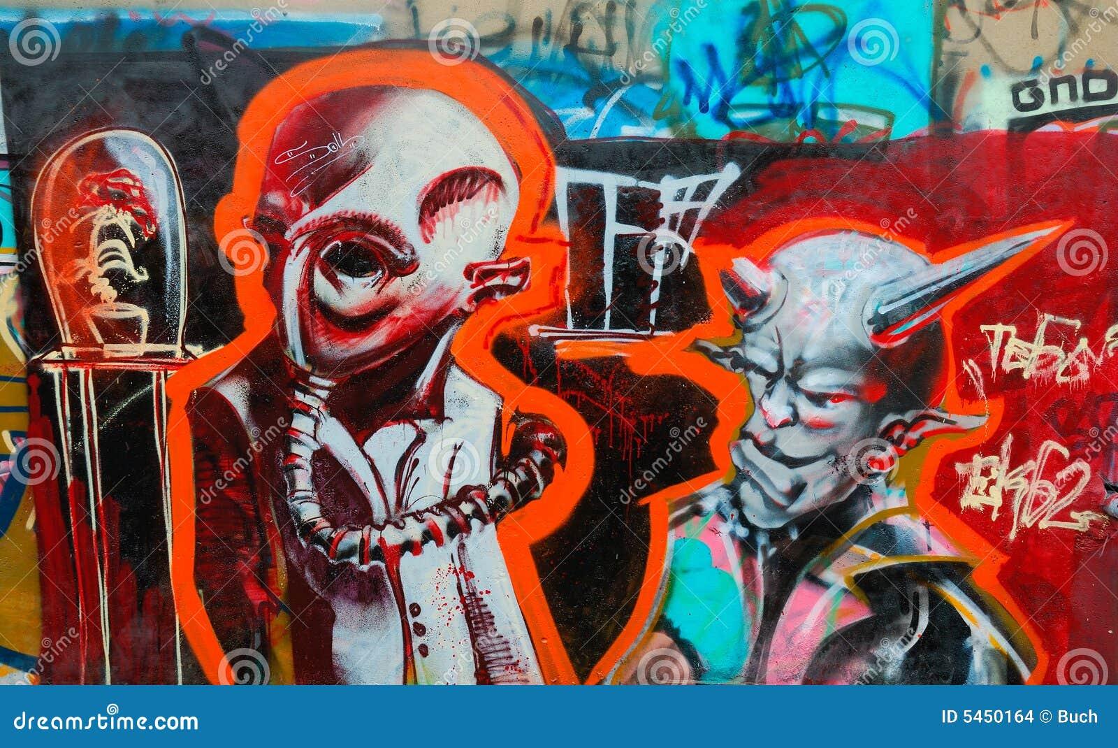 Colorful Graffiti Stock Images Image 5450164
