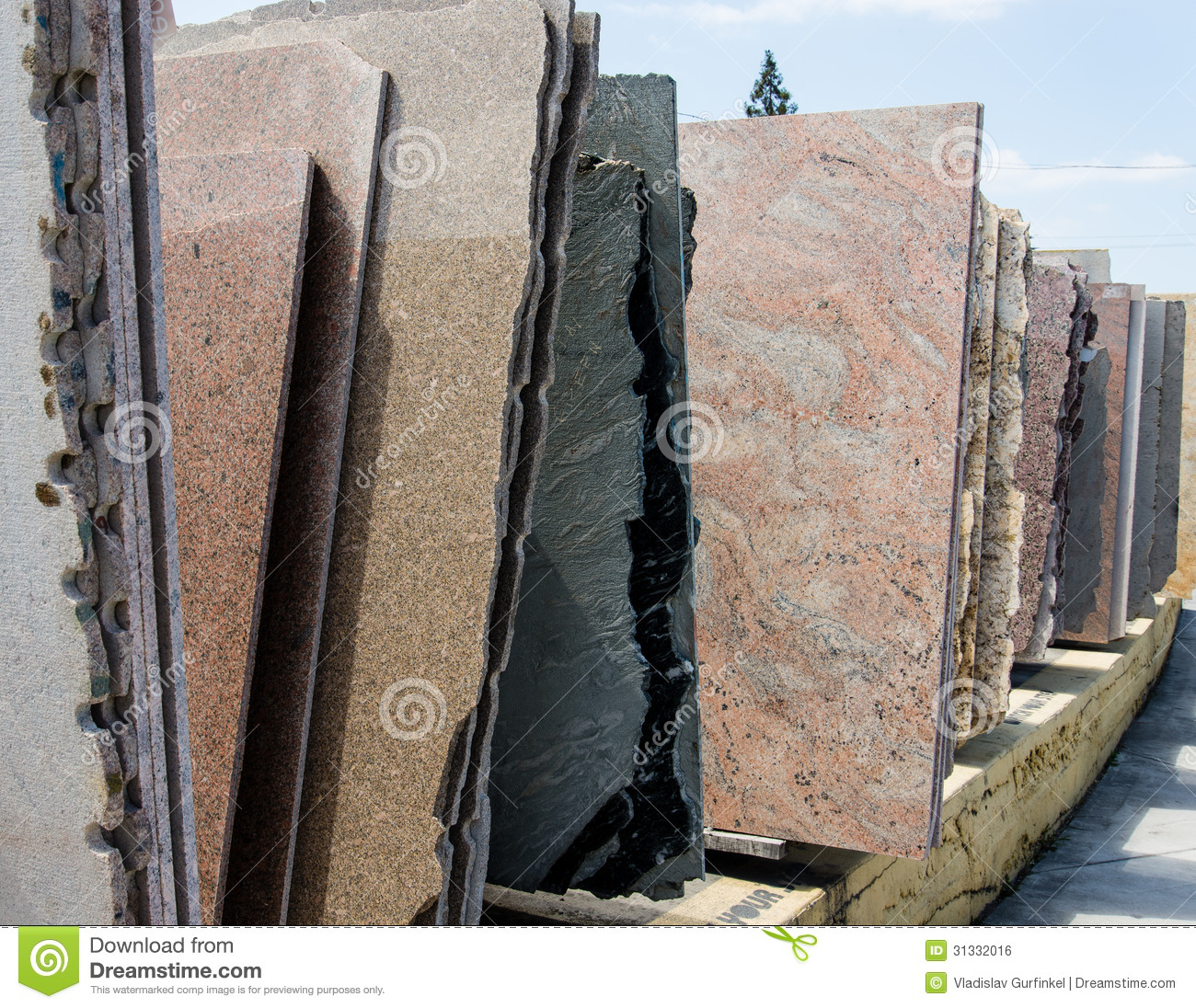 colorful granite slabs sale store show room 31332016