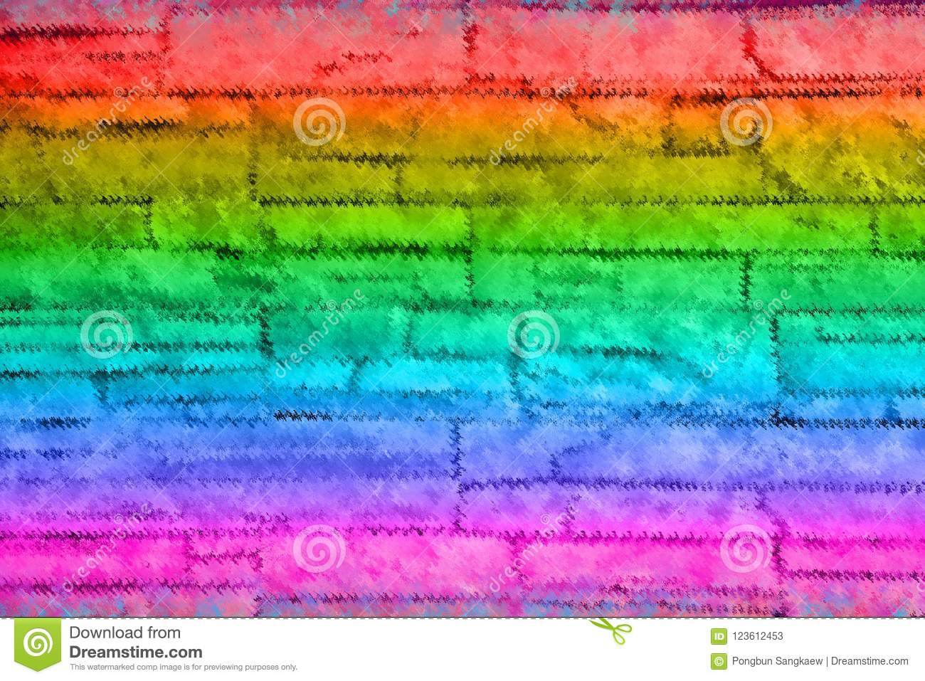 Colorful Green Pink Orange Red And Blue Abstract Background Stock Illustration Illustration Of Abstract Disco 123612453