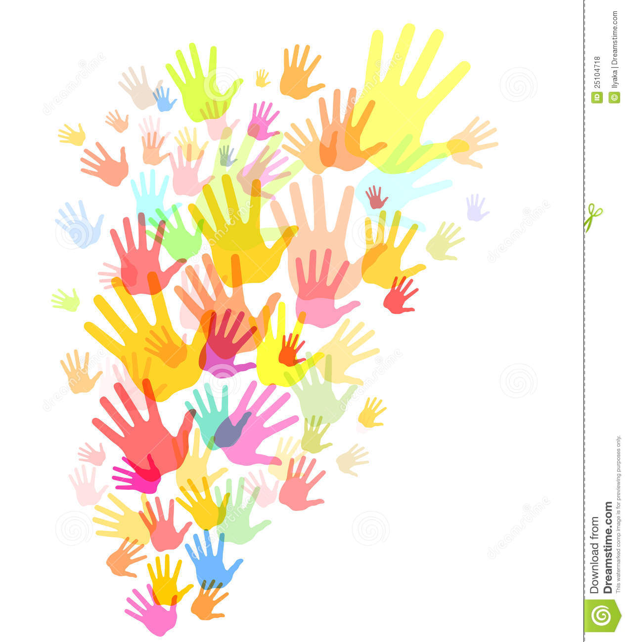 Pin Colorful Hand Drawings With Warm Color Hands And Cool