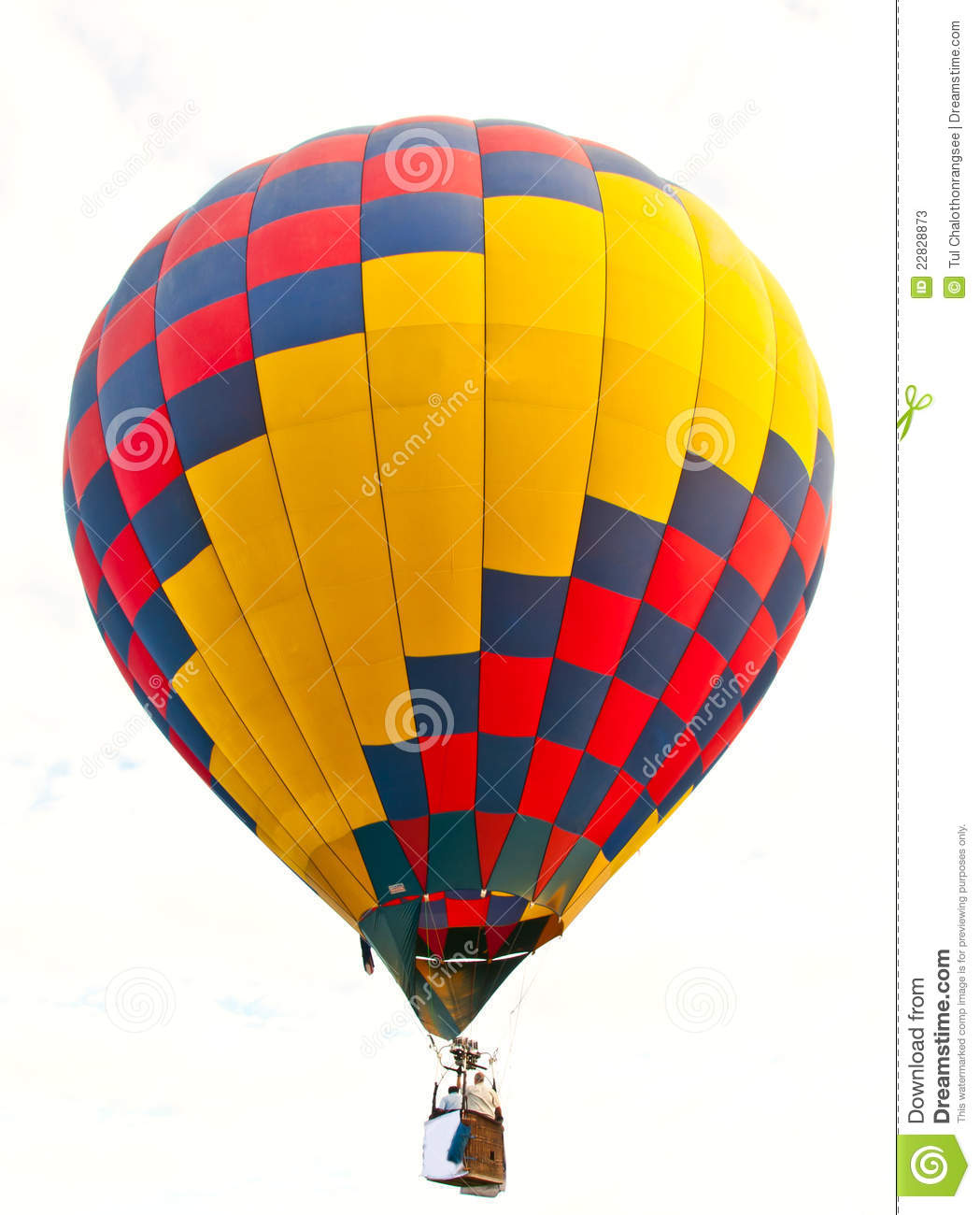 Colorful Hot Air Balloon Stock Photos - Image: 22828873